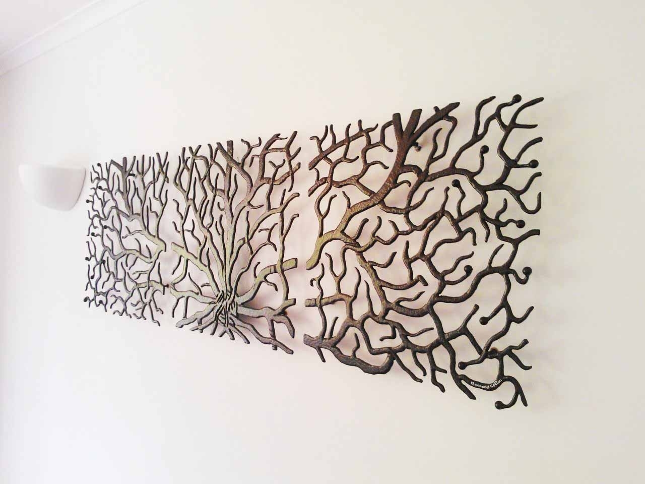 Wall Decor: Small Sectionals And Large Metal Wall Art Also Flat intended for Large Metal Wall Art (Image 19 of 20)