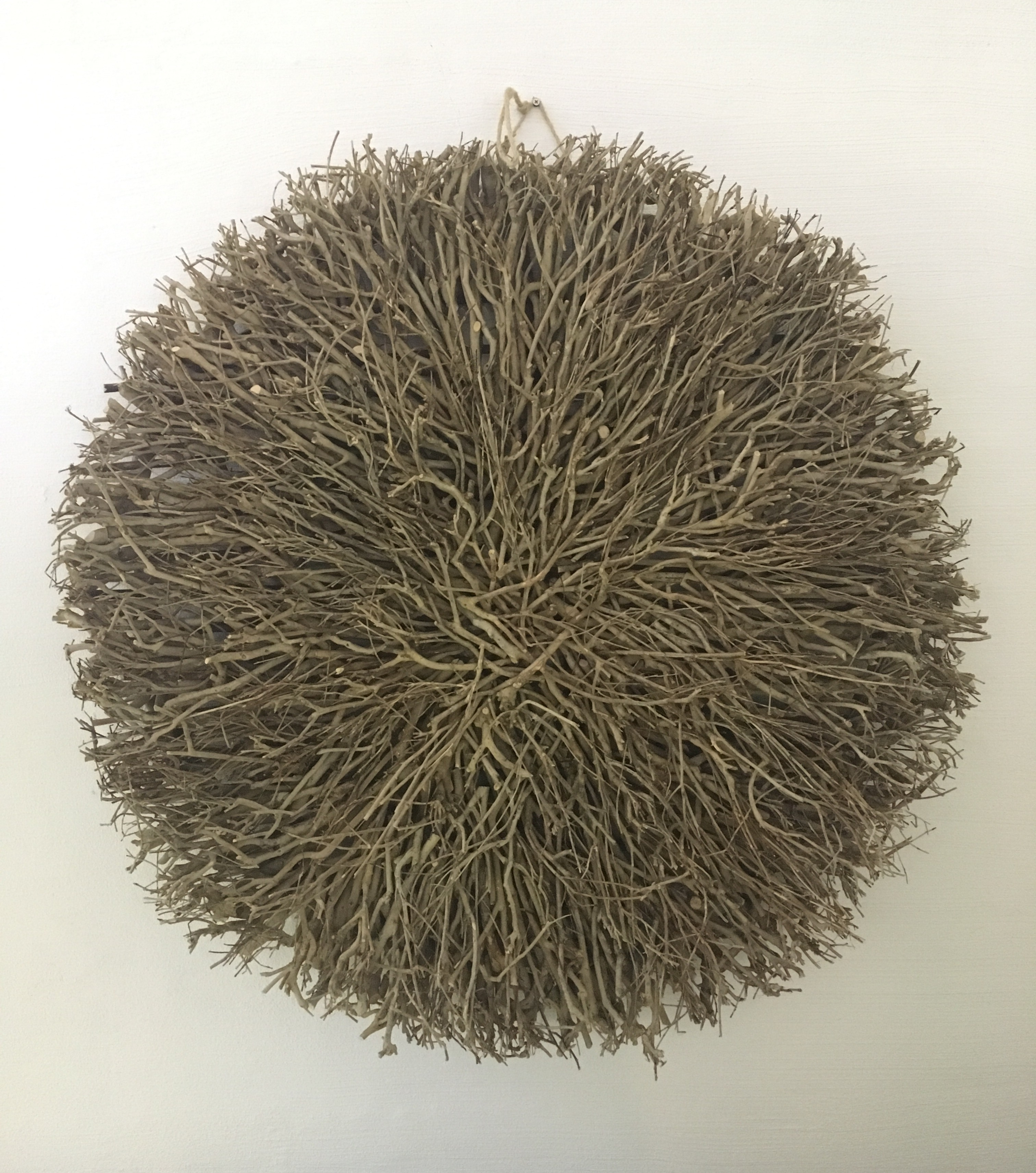 Wall Decor – Twig Large Round Natural – Daydream Leisure Furniture Intended For Round Wall Art (View 8 of 20)