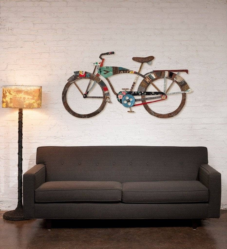 Top 20 Of Bicycle Wall Art