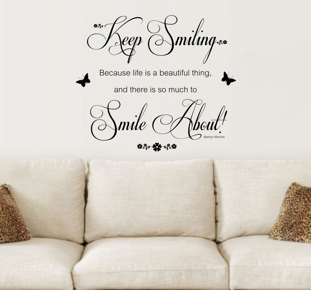 Wall Decoration Quotes Unique Inspirational Wall Art Stickers – Wall in Inspirational Wall Art (Image 19 of 20)