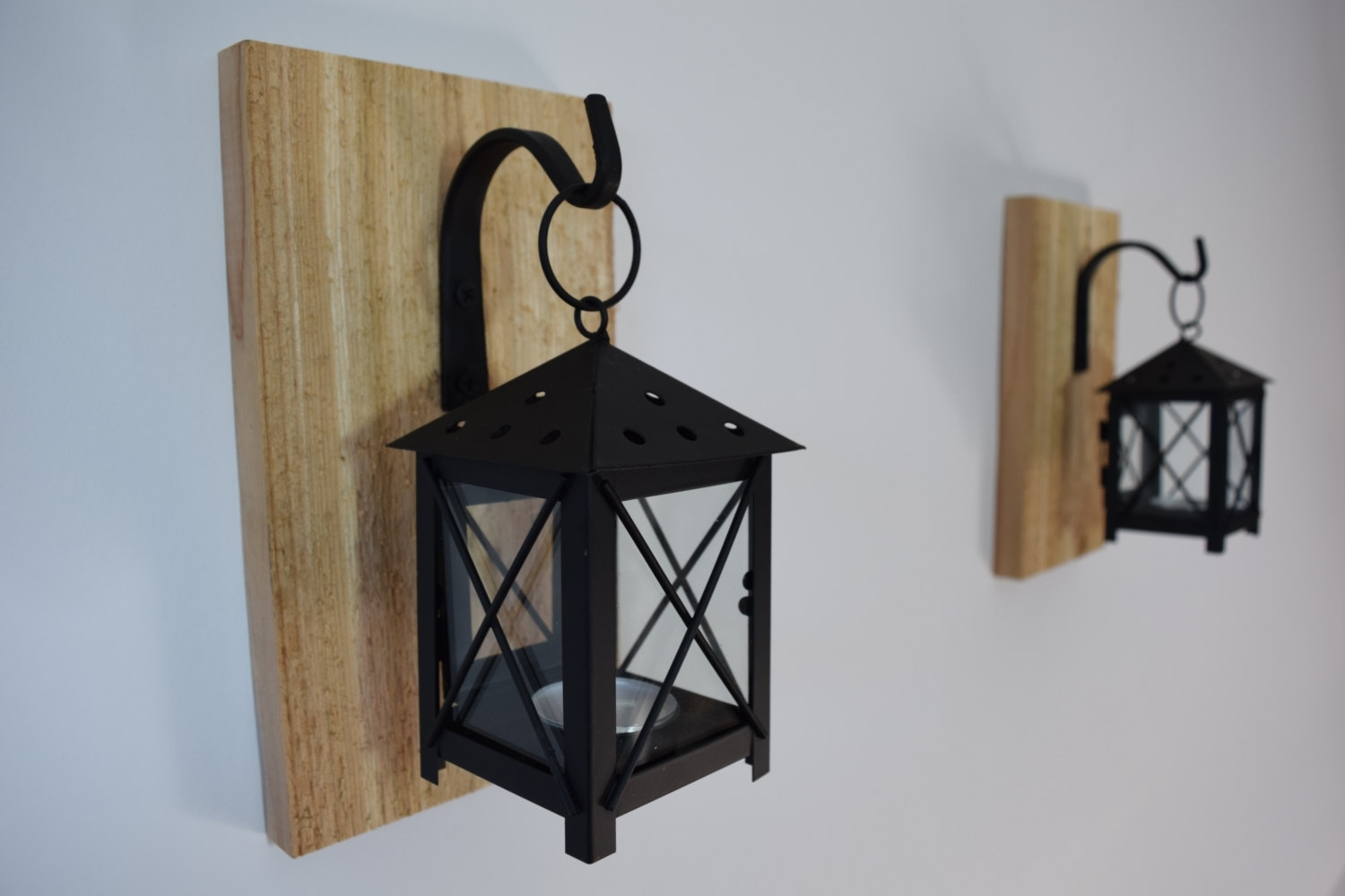 Wall Sconce Candle Holder Lantern Sconceswall Sconces Candles Within Etsy Outdoor Lanterns (Photo 11 of 20)