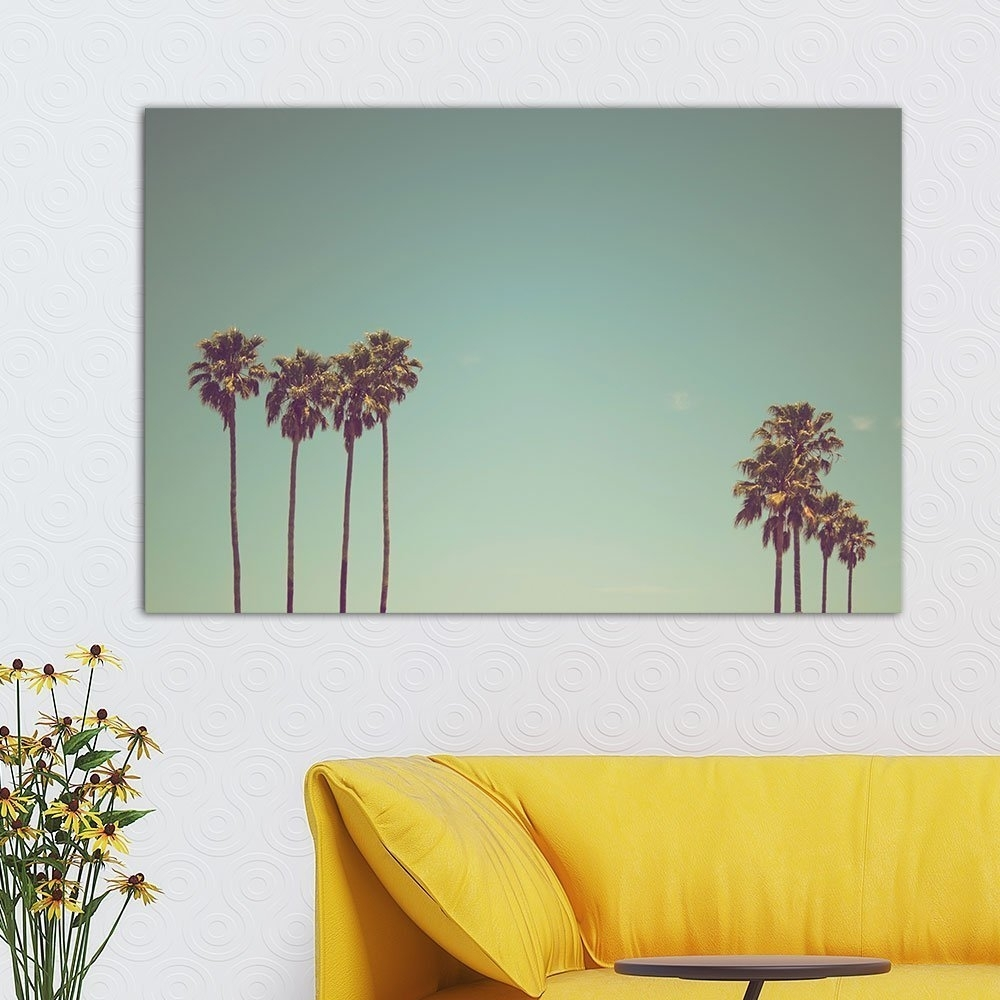Wall26 Canvas Palm Tree Wall Art | Best Wall Art From Amazon intended for Palm Tree Wall Art (Image 20 of 20)