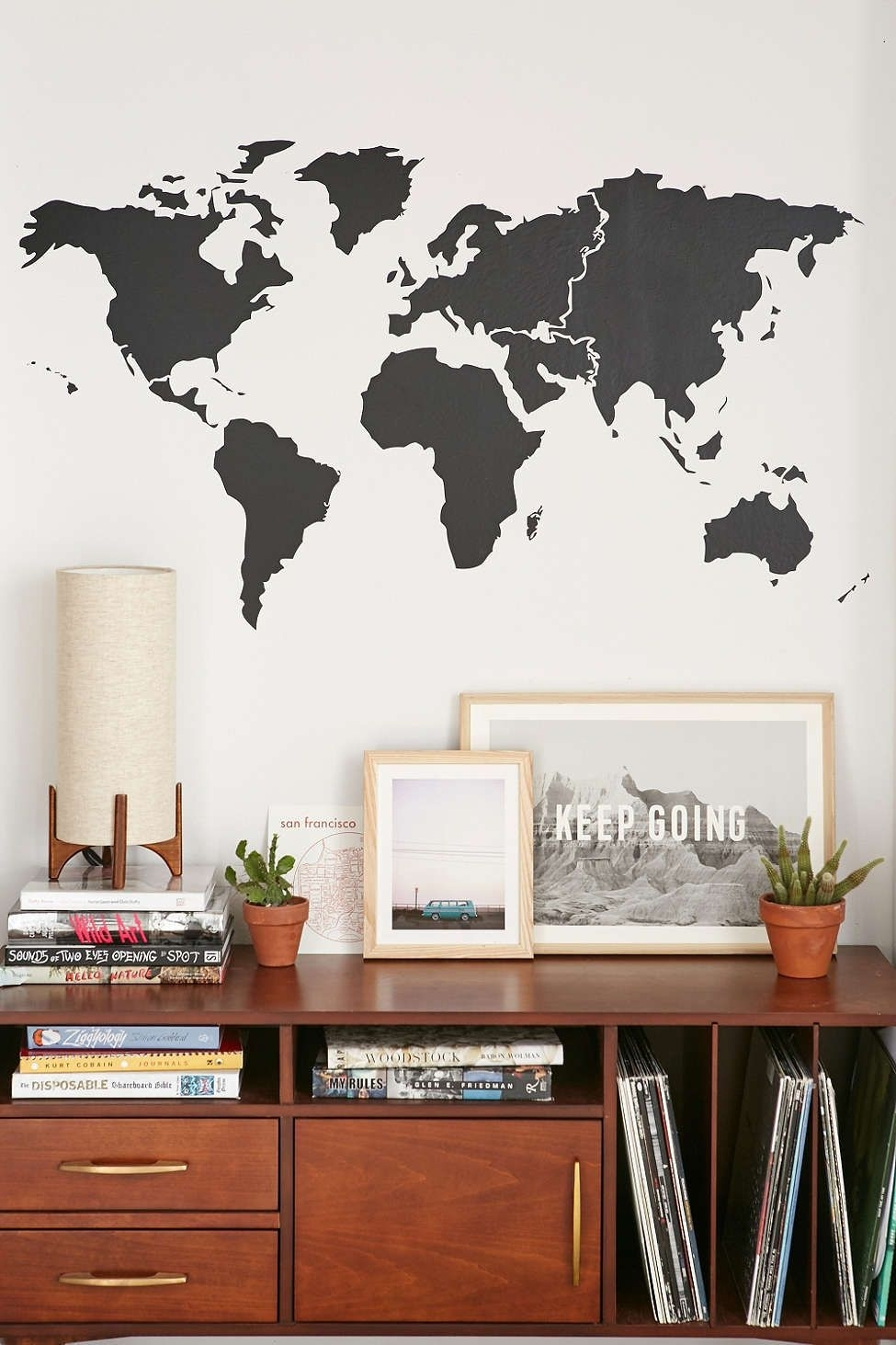 Walls Need Love World Map Wall Decal | Wall Space | Pinterest | Wall Intended For Map Of The World Wall Art (Photo 3 of 20)