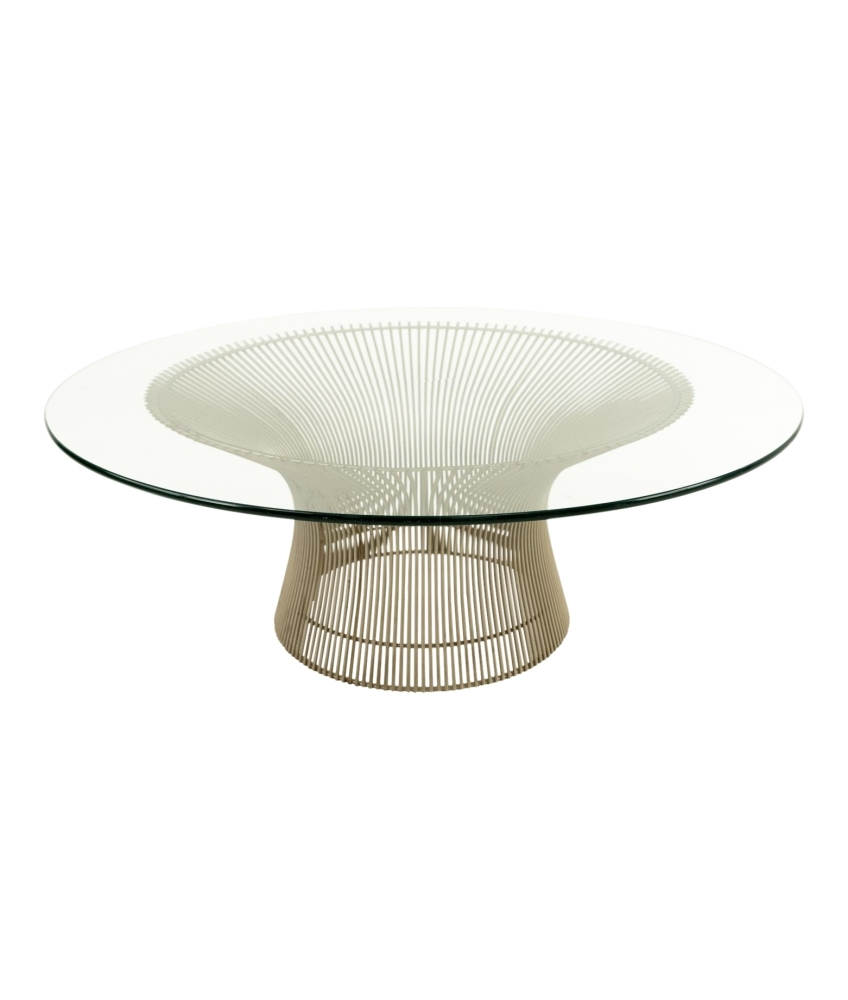 Warren Platner For Knoll Mid-Century Coffee Table throughout Mid-Century Modern Egg Tables (Image 28 of 30)