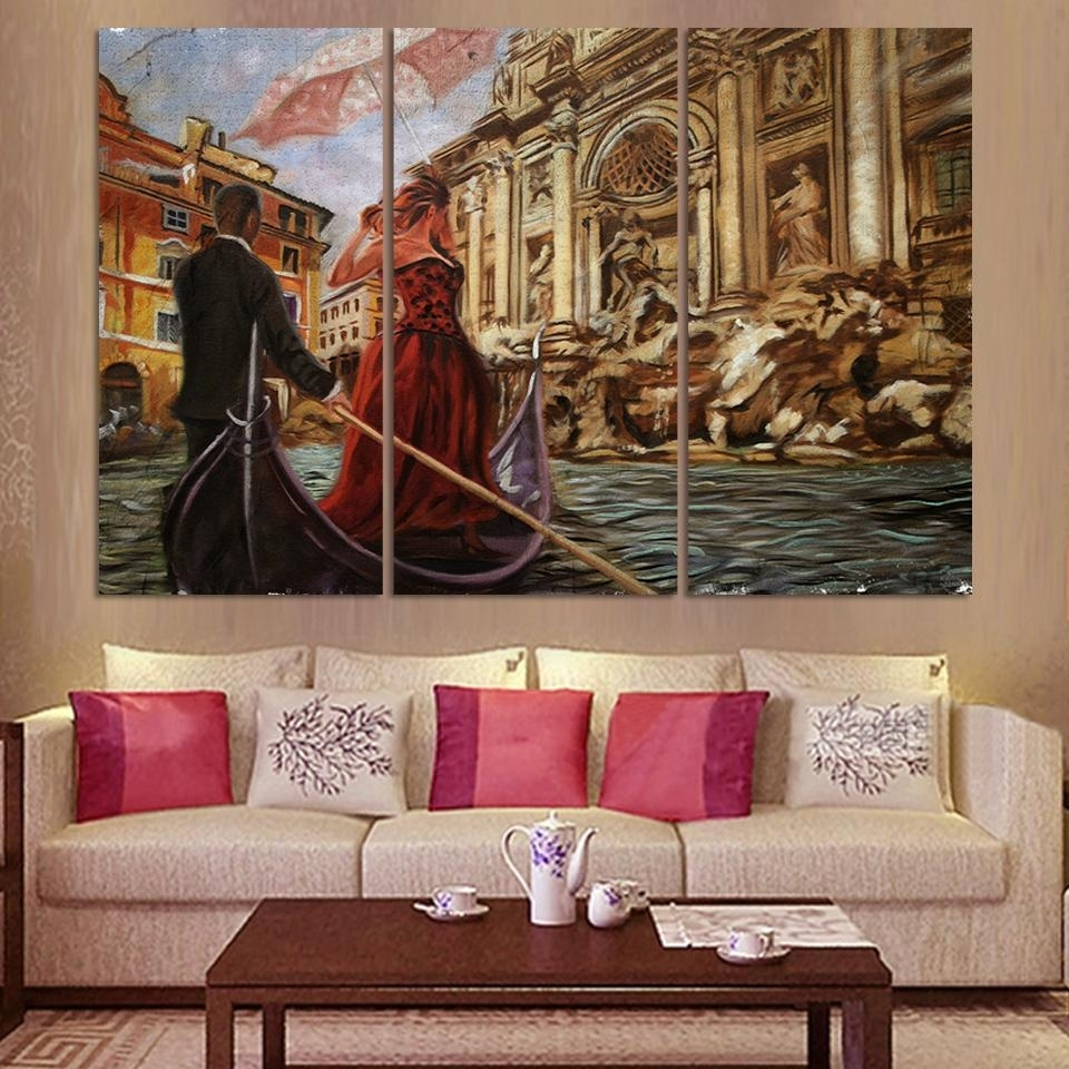 Wave Art Decoration Decorative Painting Canvas Wall Art Sets With Regard To Canvas Wall Art Sets (View 20 of 20)