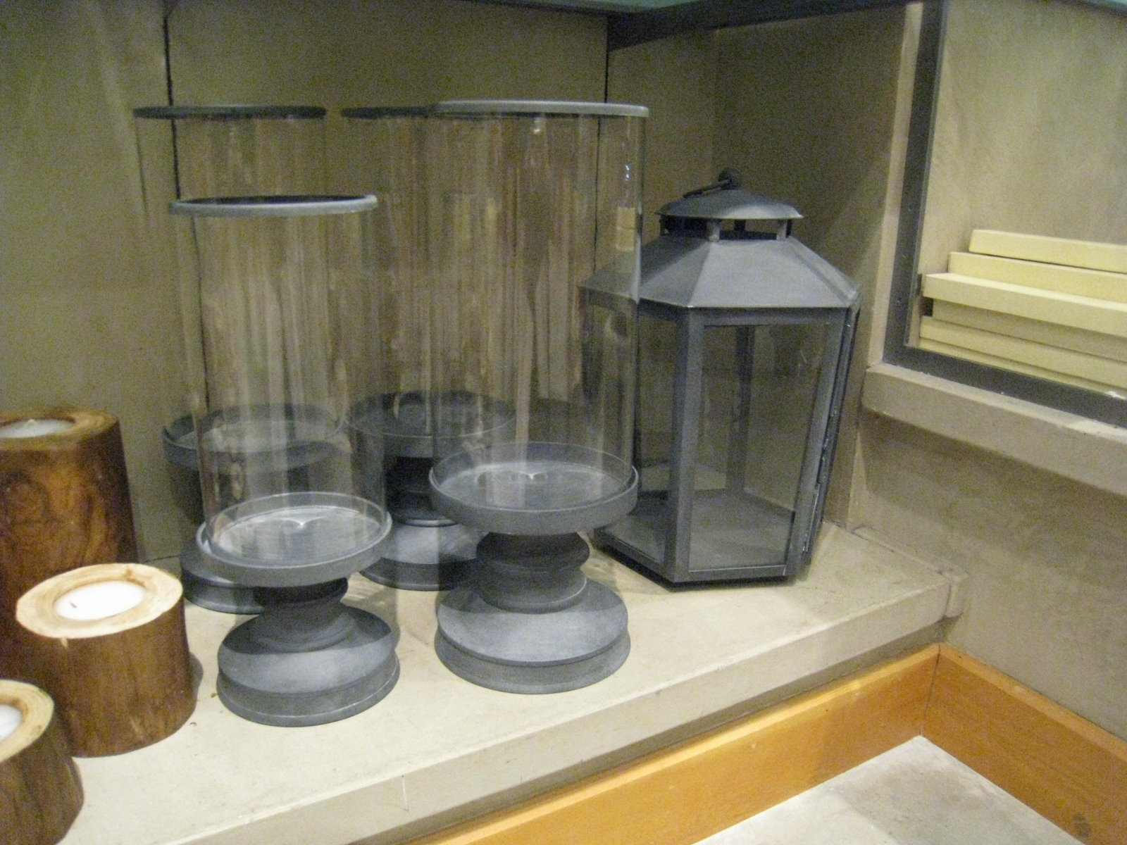 Weathered Zinc Garden Lanterns : Katy Elliott throughout Zinc Outdoor Lanterns (Image 17 of 20)