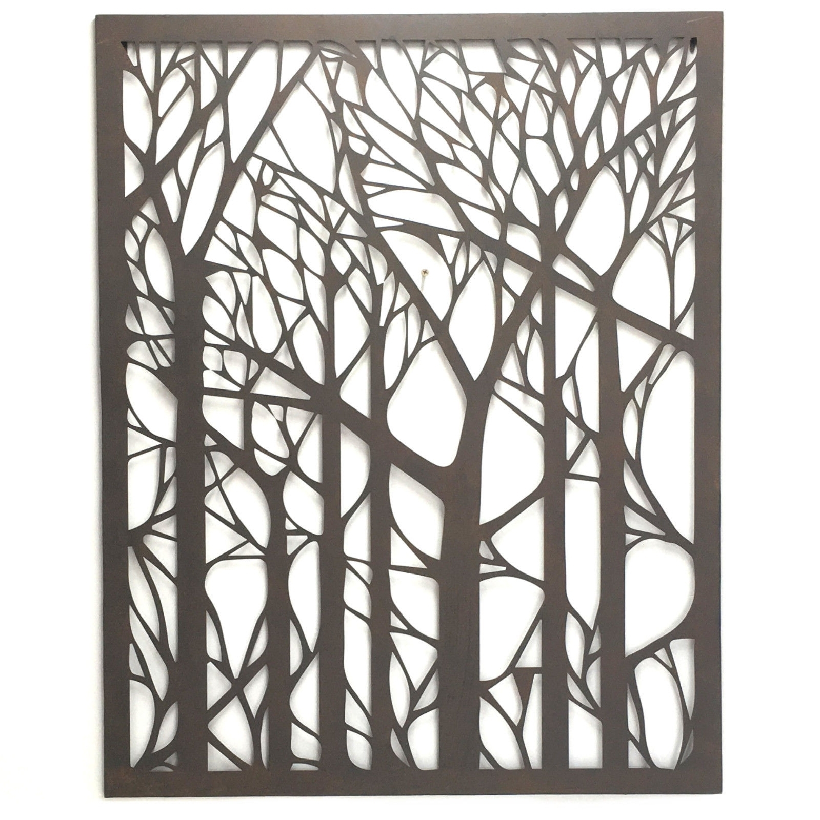 Well Known Wall Art Designs Outdoor Wall Art Metal Tree Metal Wall throughout Outdoor Metal Wall Art (Image 18 of 20)