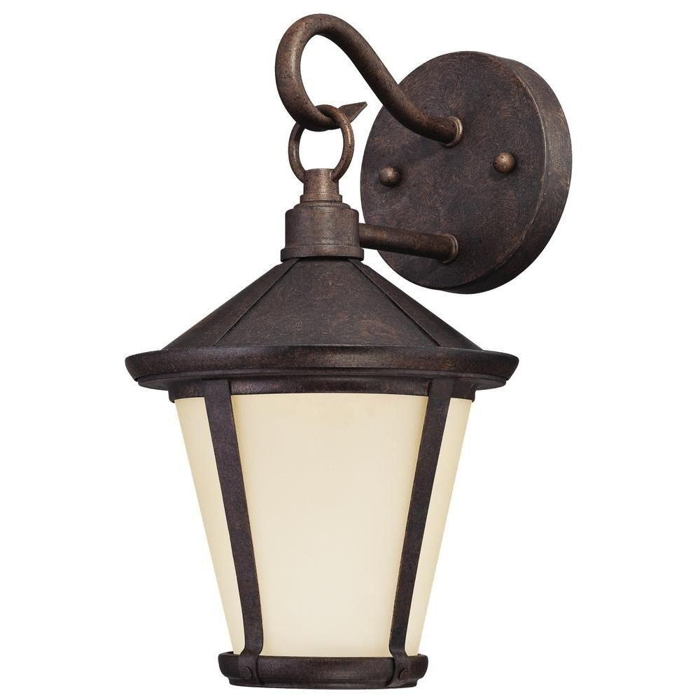 Westinghouse Darcy 1 Light Victorian Bronze Outdoor Led Wall Lantern With Regard To Victorian Outdoor Lanterns (View 15 of 20)