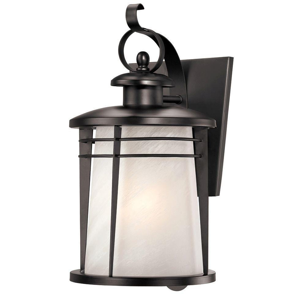 Westinghouse Senecaville Wall Mount 1 Light Outdoor Weathered Bronze Inside Quality Outdoor Lanterns (Photo 14 of 20)
