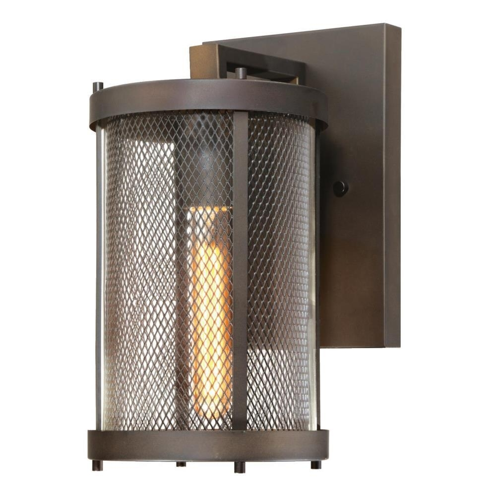 Westinghouse Skyview 1 Light Oil Rubbed Bronze Outdoor Led Wall Pertaining To Outdoor Oil Lanterns For Patio (View 20 of 20)