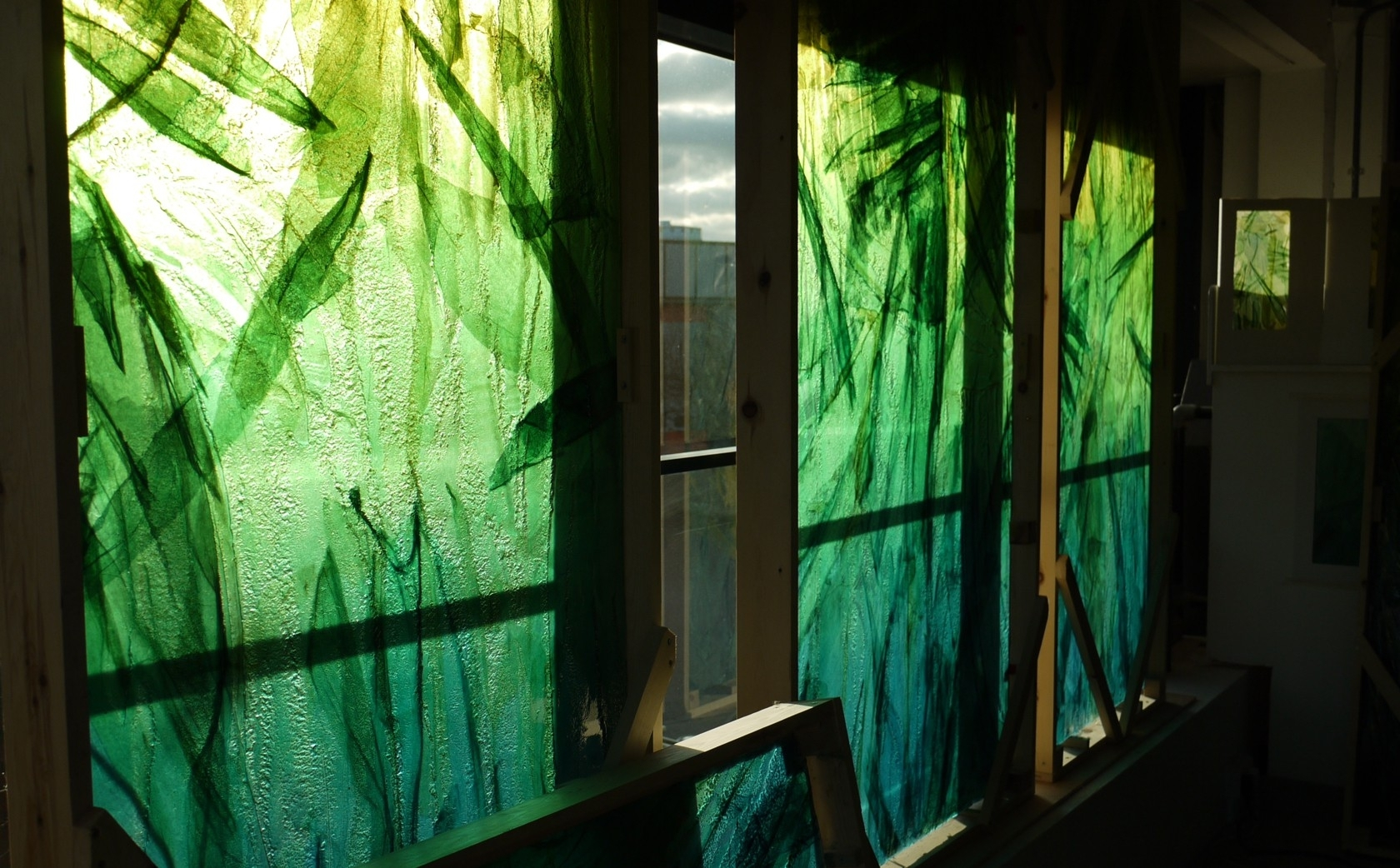 What Is Green Gallery One Glass Wall Art - Best Home Design Interior within Glass Wall Art (Image 18 of 20)