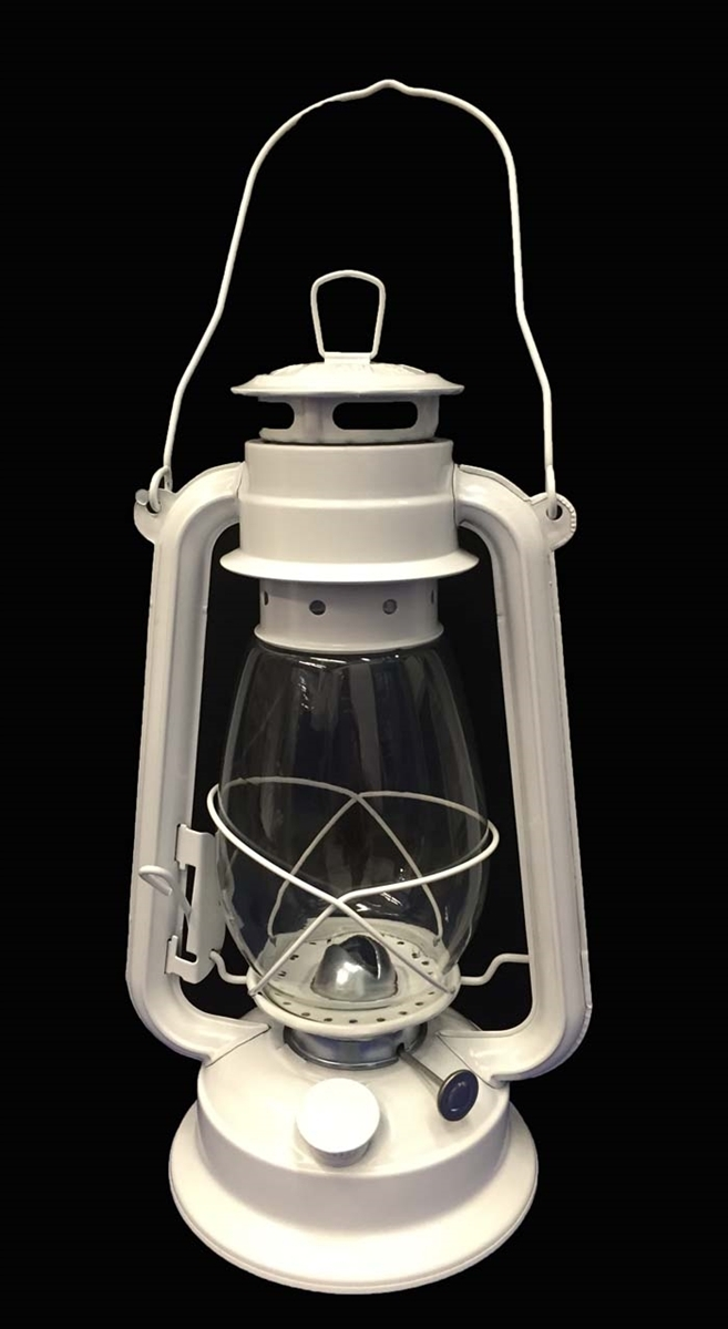 White Hurricane Kerosene Lantern Wedding Light Table Decorative Lamp throughout Decorative Outdoor Kerosene Lanterns (Image 20 of 20)