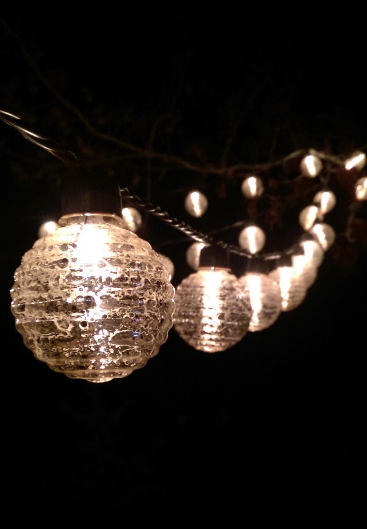 White Outdoor Lights String   Outdoor Lighting Ideas With Regard To Outdoor Lanterns On String (Photo 6 of 20)