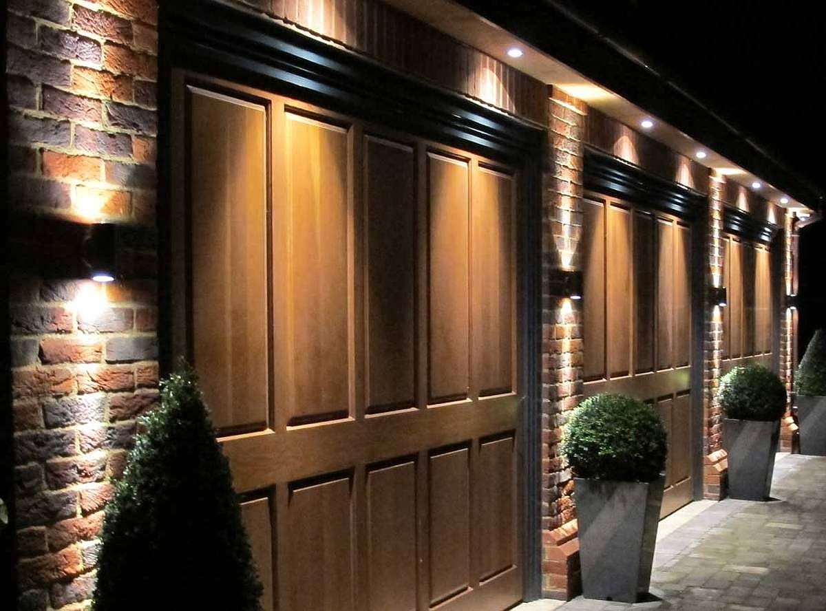 Why Exterior Lighting Garage Door Light 2018 - Selincaglayan regarding Outdoor Door Lanterns (Image 20 of 20)