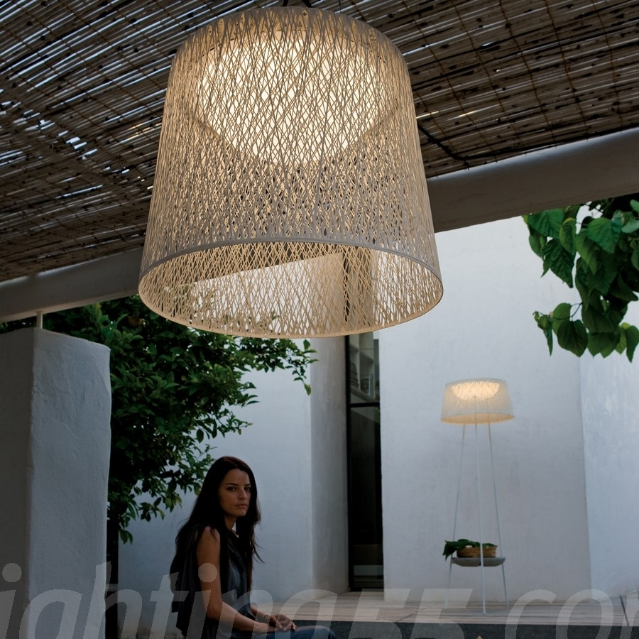 Wind Outdoor Pendant Light - 4075Vibia At Lighting55 regarding Outdoor Pendant Lanterns (Image 20 of 20)