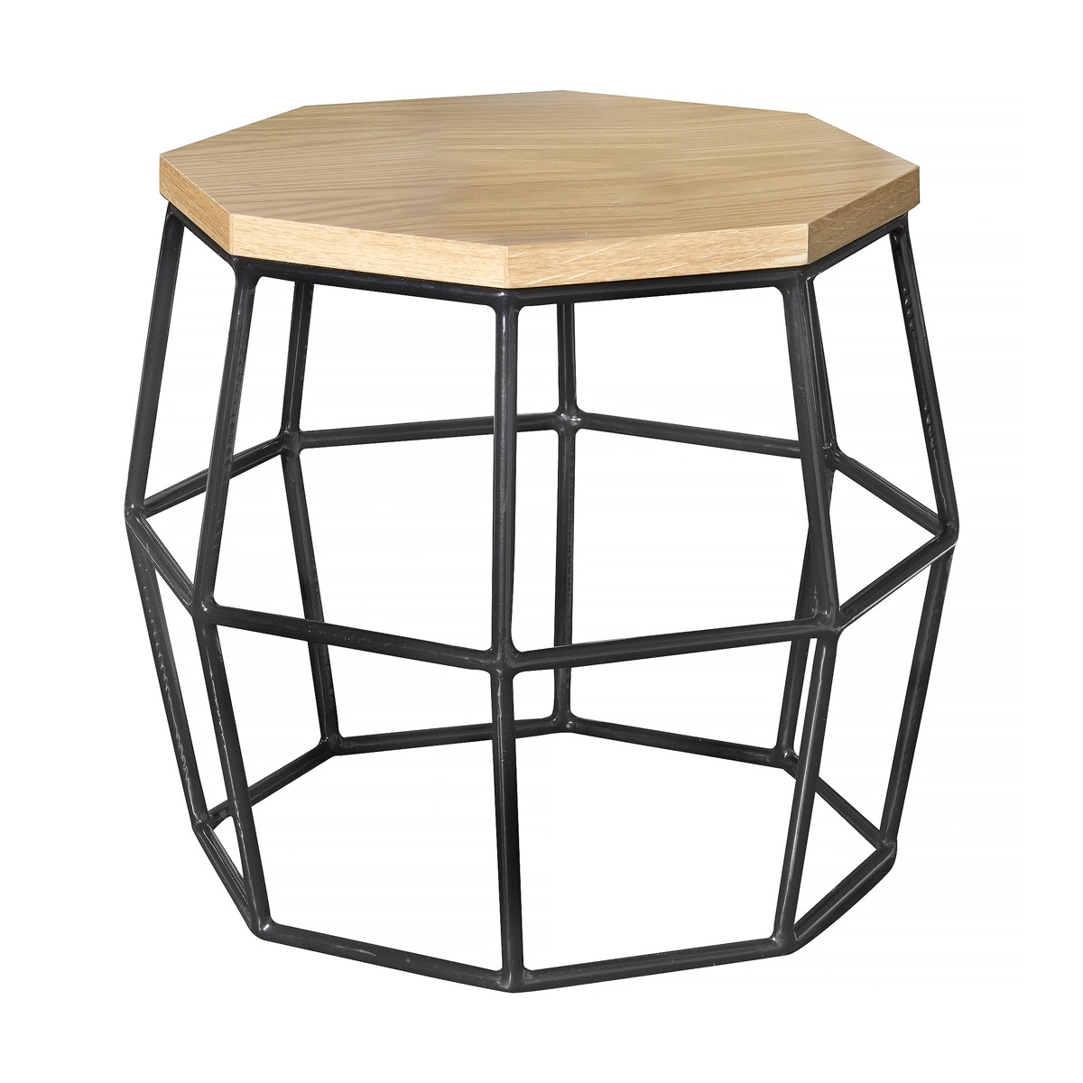 Wire Frame Side Table | Sevenstonesinc Within Black Wire Coffee Tables (Photo 15 of 30)