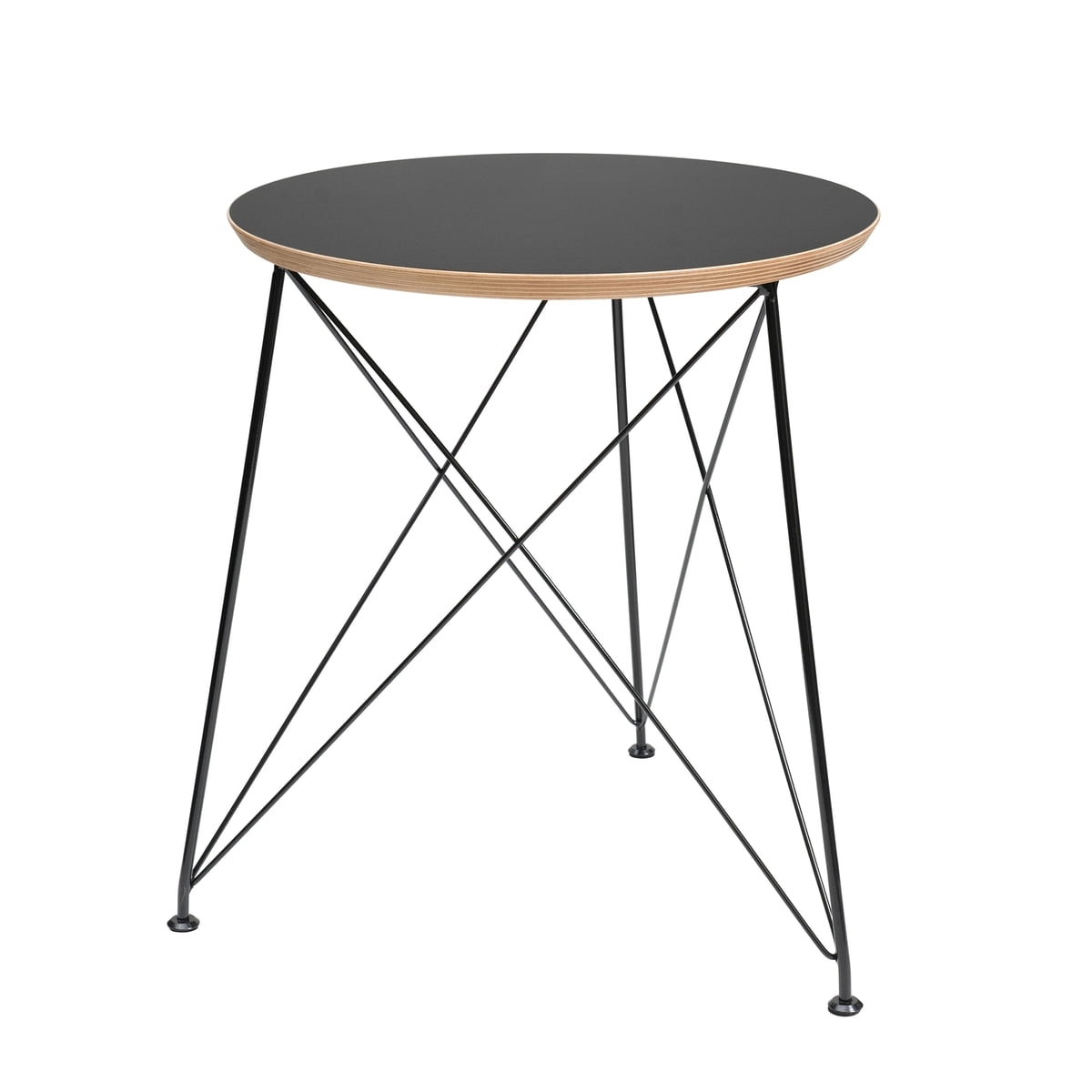 Wire Side Table | Connox Collection regarding Black Wire Coffee Tables (Image 30 of 30)