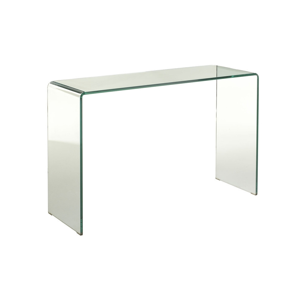 Wisteria Waterfall Console | Domino inside Square Waterfall Coffee Tables (Image 30 of 30)