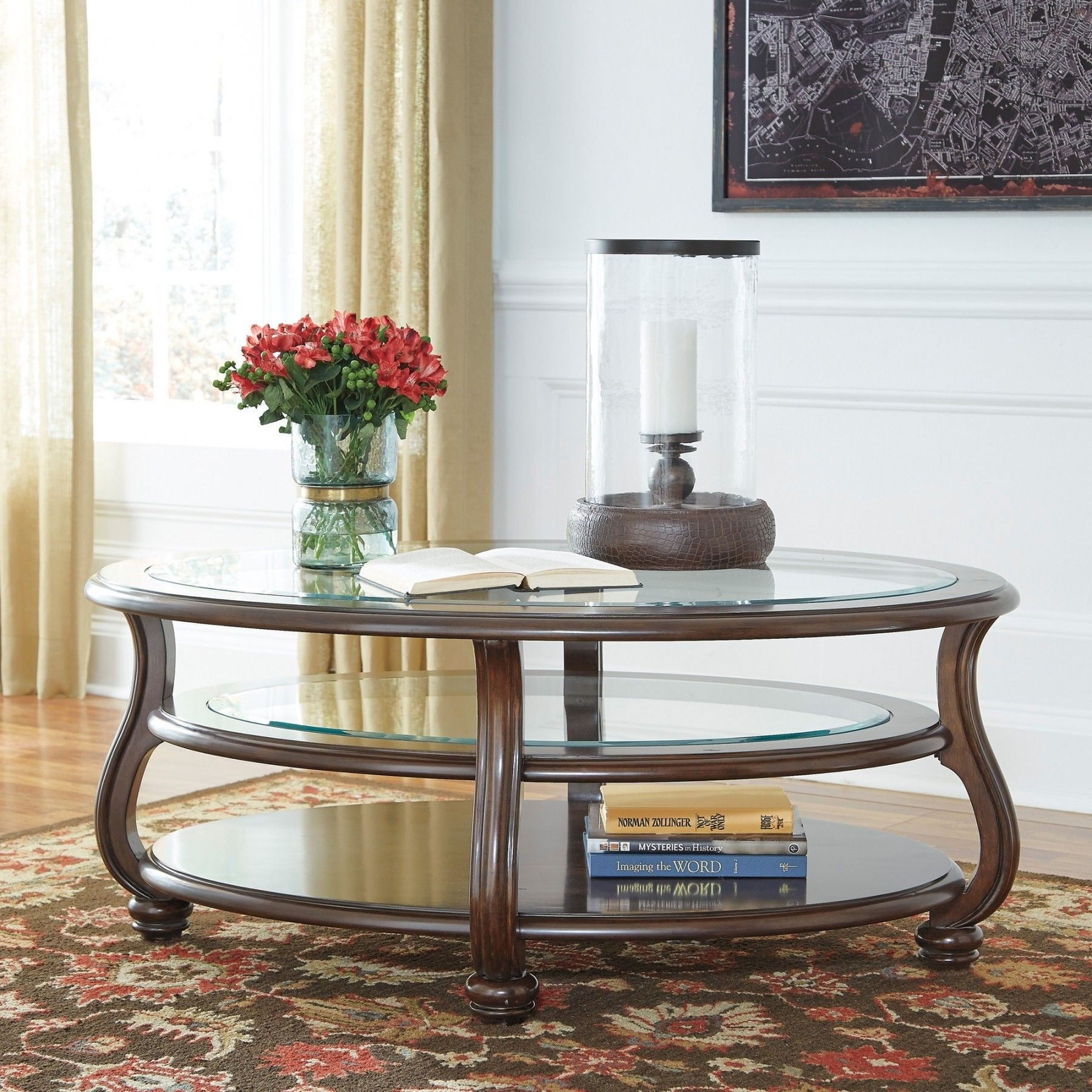 With Its Curvaceous Swan Neck Legs With Dramatic Turned Details, The Within Stately Acrylic Coffee Tables (Photo 6 of 30)