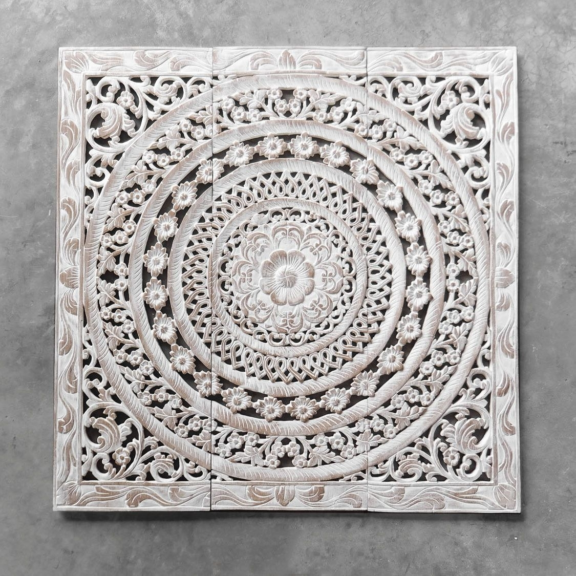 Wood Carved Wall Decor Moroccan Decent Wood Carving Wall Art Hanging Throughout Wood Carved Wall Art (Photo 1 of 20)