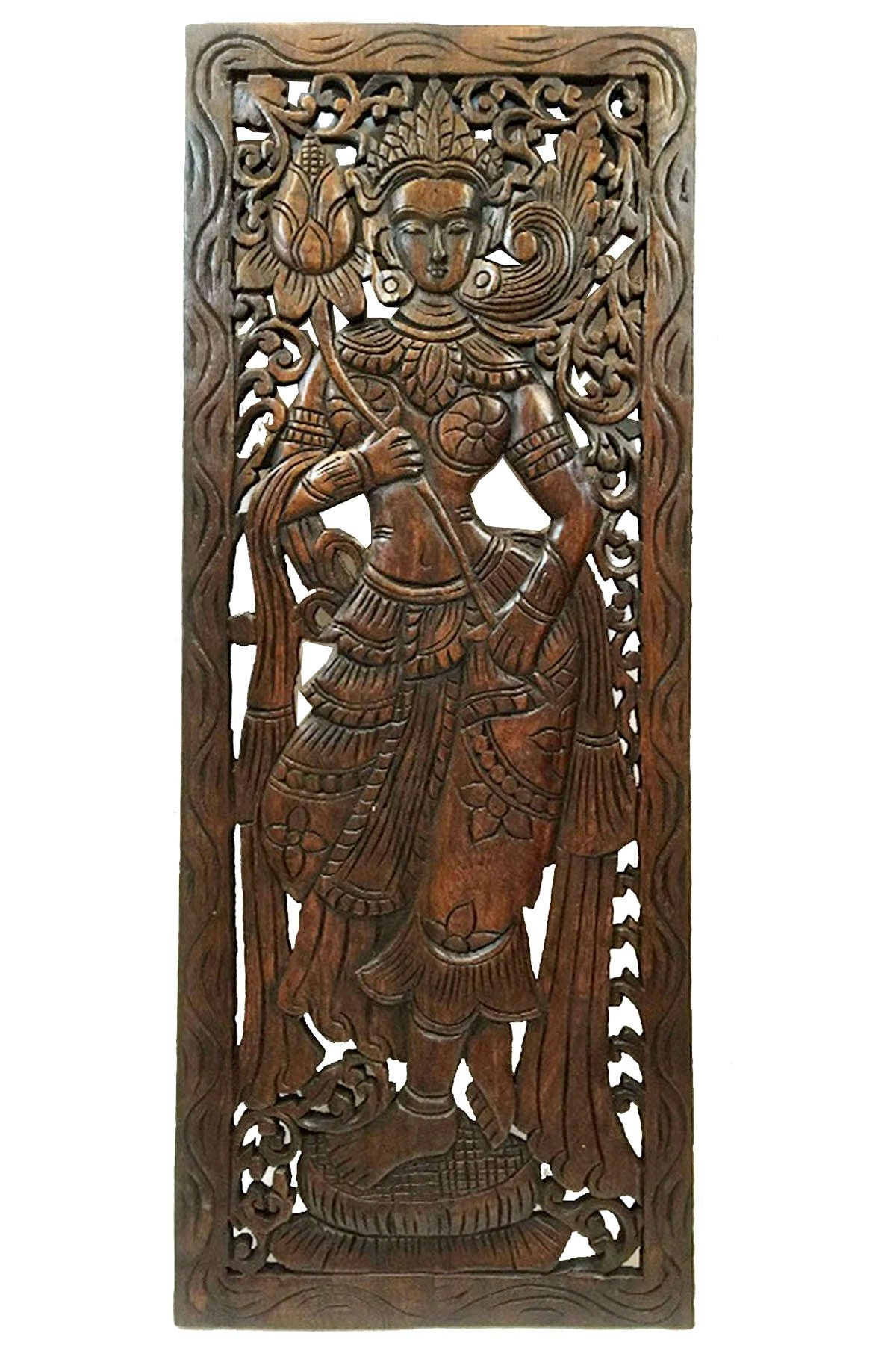 Wood Carving Wall Panel Best Of Wood Carved Wall Art Carved Wood Regarding Wood Carved Wall Art (Photo 19 of 20)