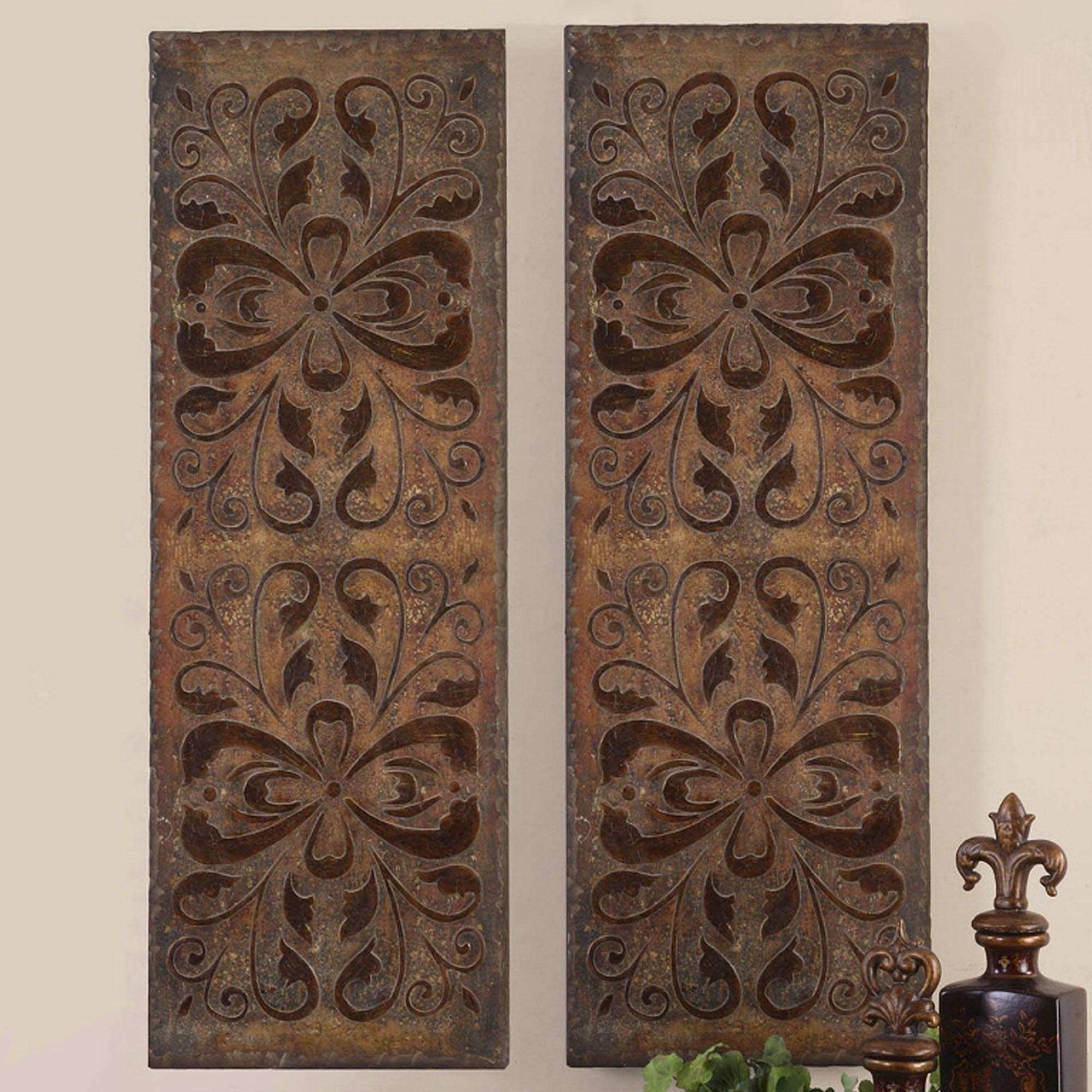 Wood Carvings Wall Decor Elegant 20 S Wood Carved Wall Art Panels With Wall Art Panels (Photo 7 of 20)