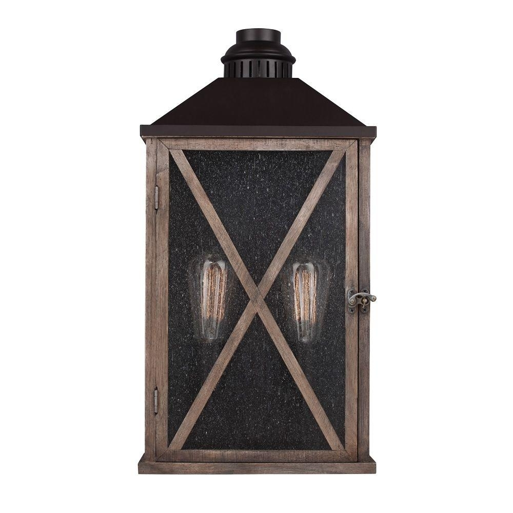 Wood   Outdoor Lanterns & Sconces   Outdoor Wall Mounted Lighting Pertaining To Outdoor Wood Lanterns (Photo 15 of 20)