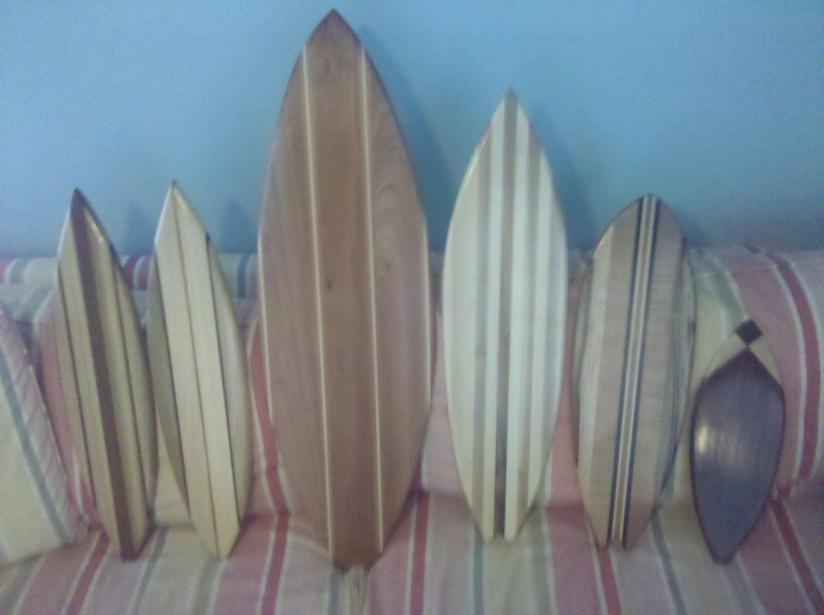 Wood Surfboard Wall Décor Ideas — Room Decor : How To Select with Surfboard Wall Art (Image 18 of 20)