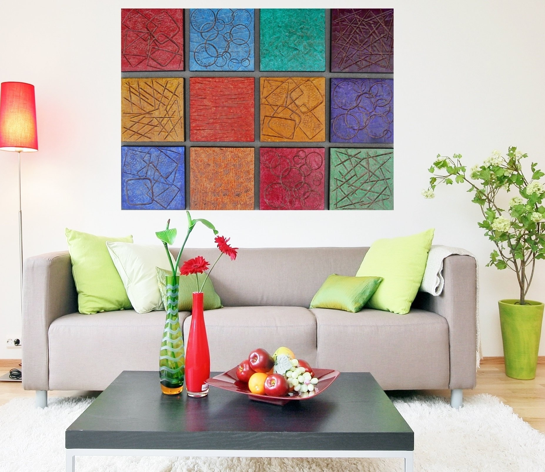 Wood Wall Art – Modern Art Paintings – Large Abstract Artwork Within Large Abstract Wall Art (View 20 of 20)