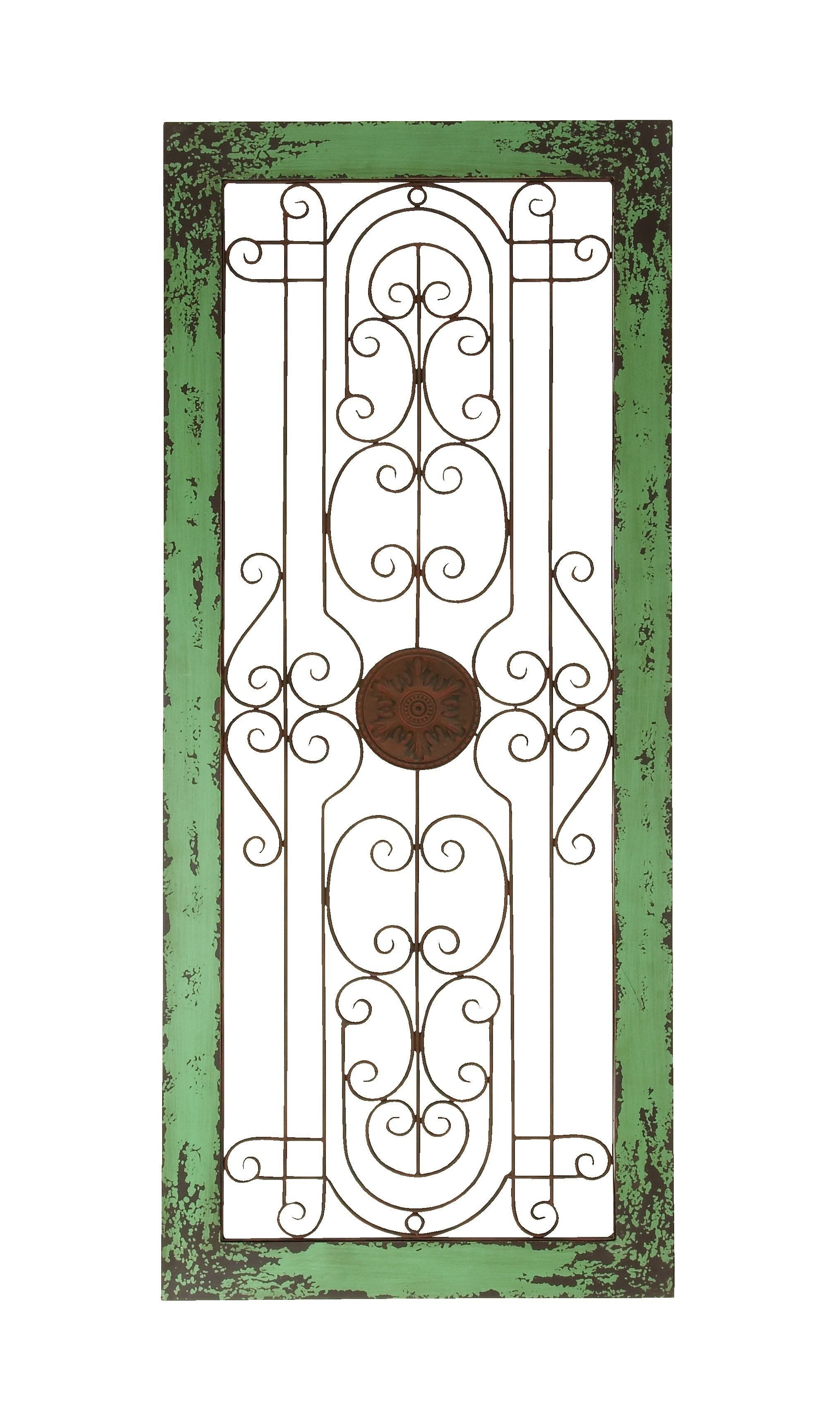 Wooden And Metal Wall Decor With Fine Attention To Details Intended For Wood And Metal Wall Art (Photo 9 of 20)