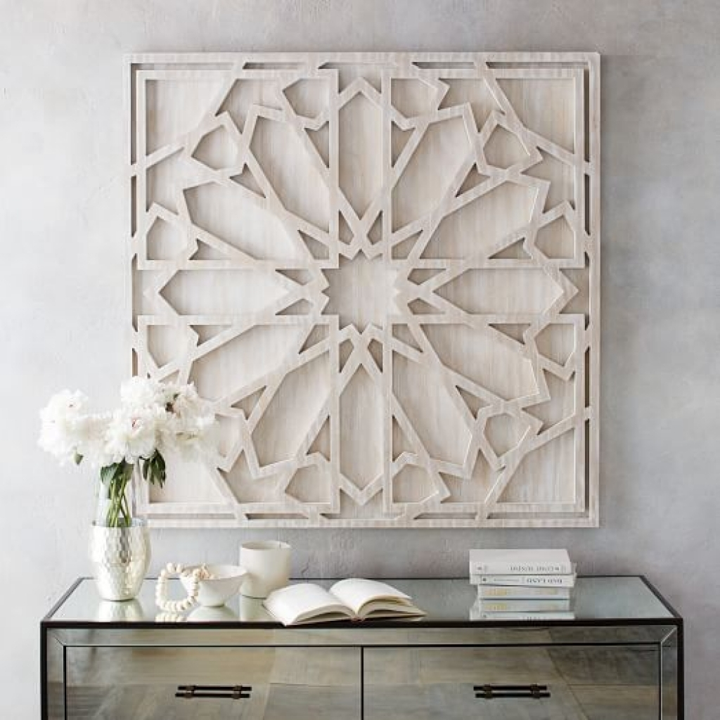 Wooden Wall Decoration Whitewashed Wood Wall Art West Elm Best Decor Pertaining To West Elm Wall Art (View 6 of 20)