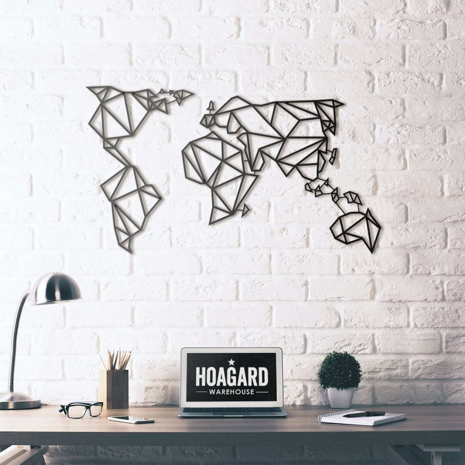 World Map Metal Wall Art Lovely Metal Wall Art World Map Hoagard Of pertaining to World Map For Wall Art (Image 13 of 20)