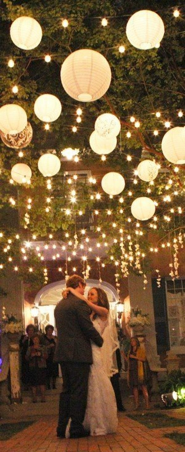 Wow Factor Wedding Ideas Without Breaking The Budget | Pinterest intended for Outdoor Lanterns For Parties (Image 20 of 20)