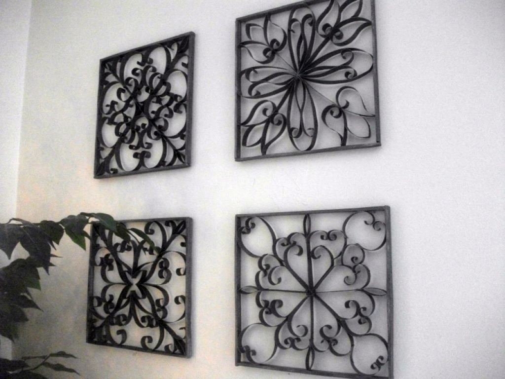 Wrought Iron Wall Decor Ideas Wrought Iron Wall Art Decor for Iron Wall Art (Image 18 of 20)