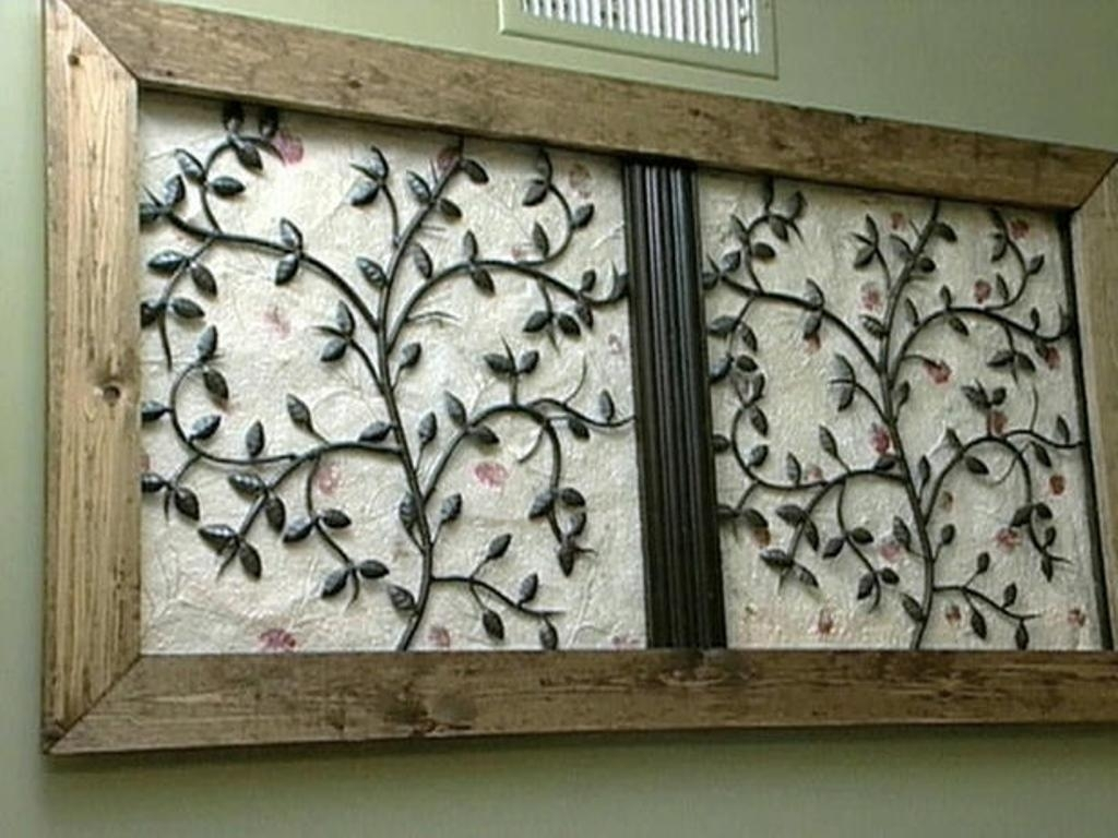 Wrought Iron Wall Decorations, Wood And Metal Wall Art   Swinki Morskie In Wood And Metal Wall Art (Photo 6 of 20)