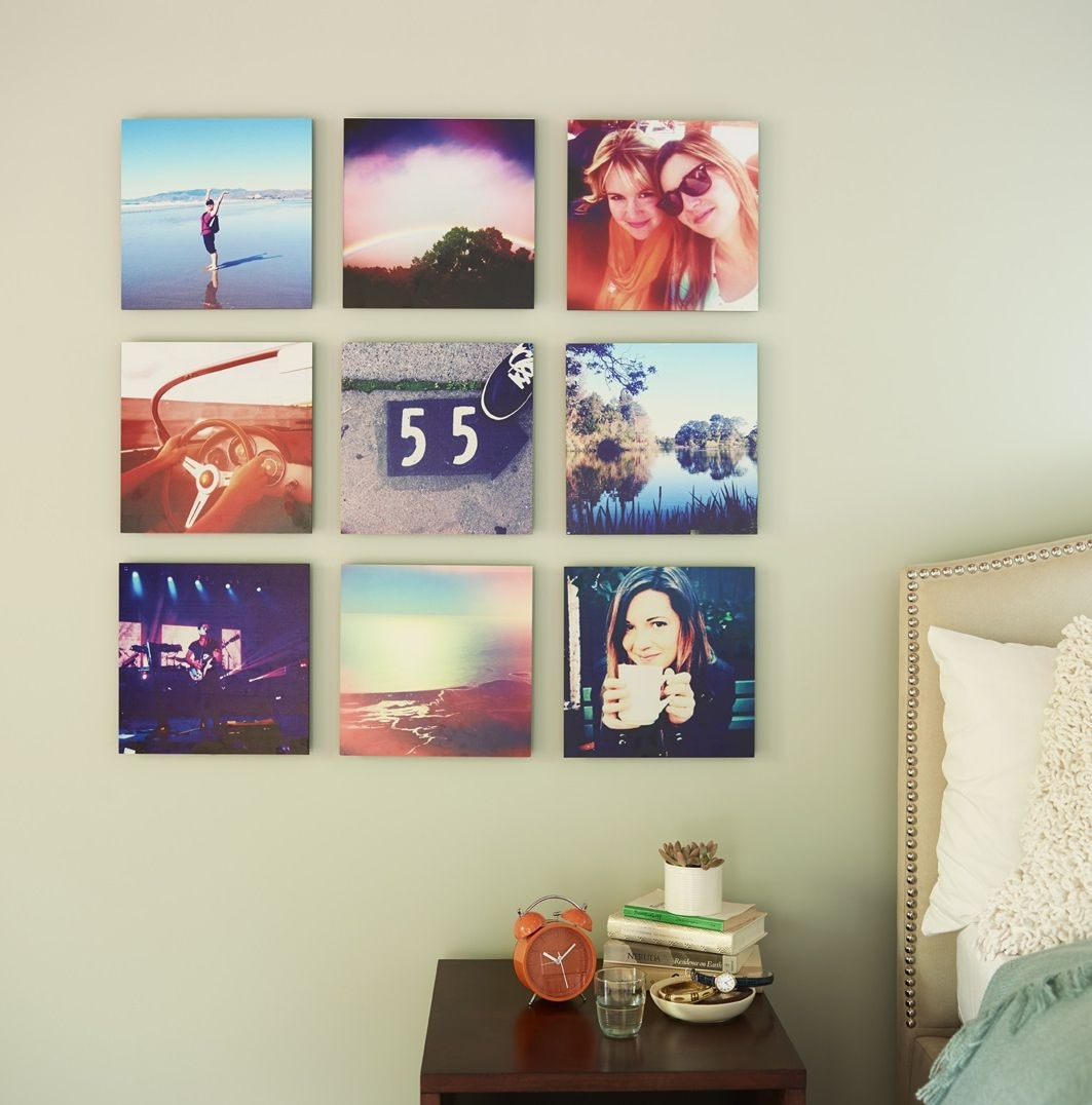 Your Favorite Pictures From Your Favorite Trips. Bring Your intended for Instagram Wall Art (Image 20 of 20)