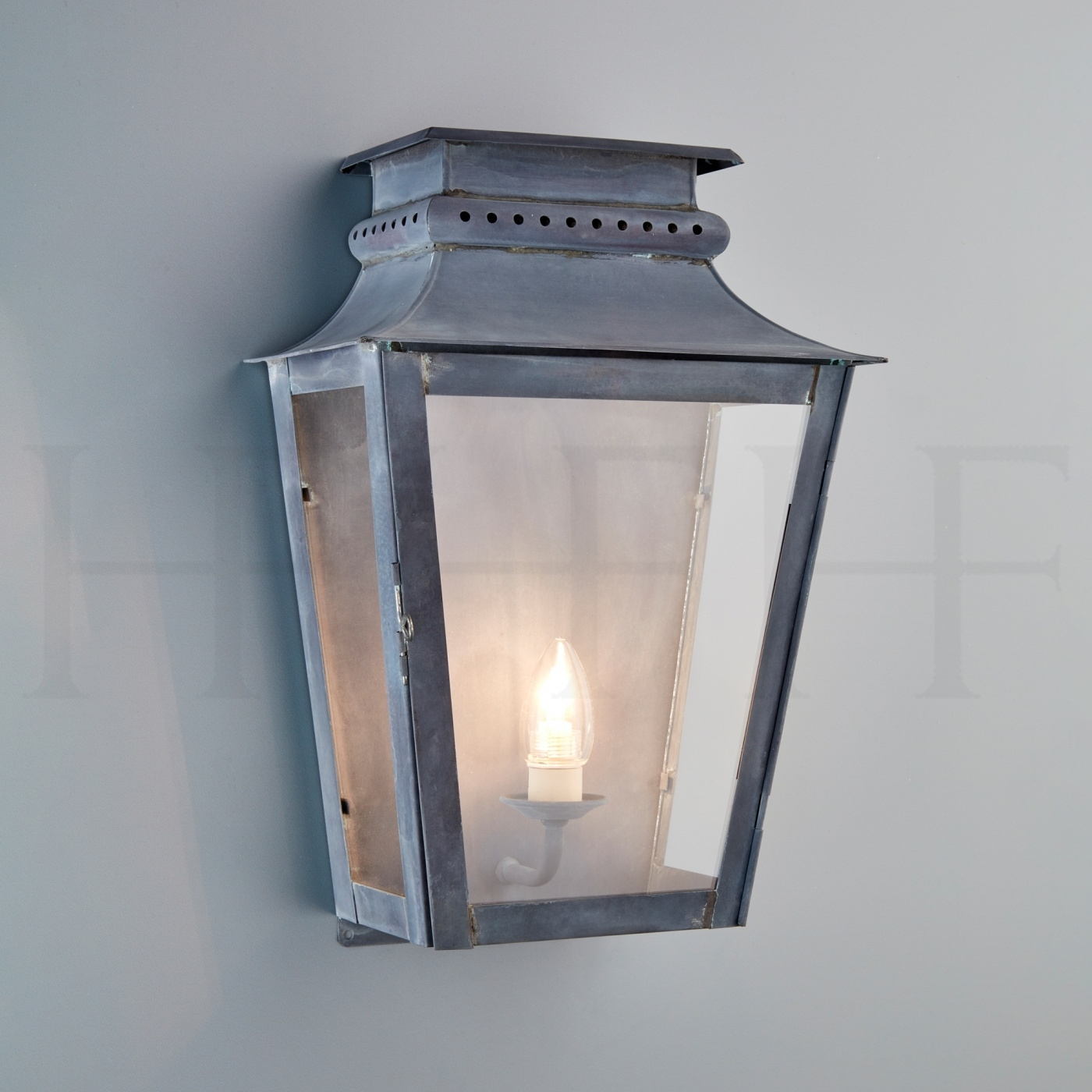 Zeus Wall Lantern | Hector Finch Lighting within Zinc Outdoor Lanterns (Image 18 of 20)