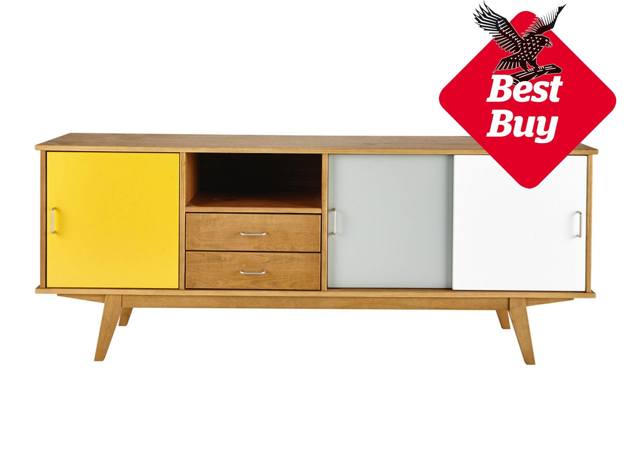 10 Best Sideboards | The Independent Intended For Oil Pale Finish 3 Door Sideboards (View 5 of 30)