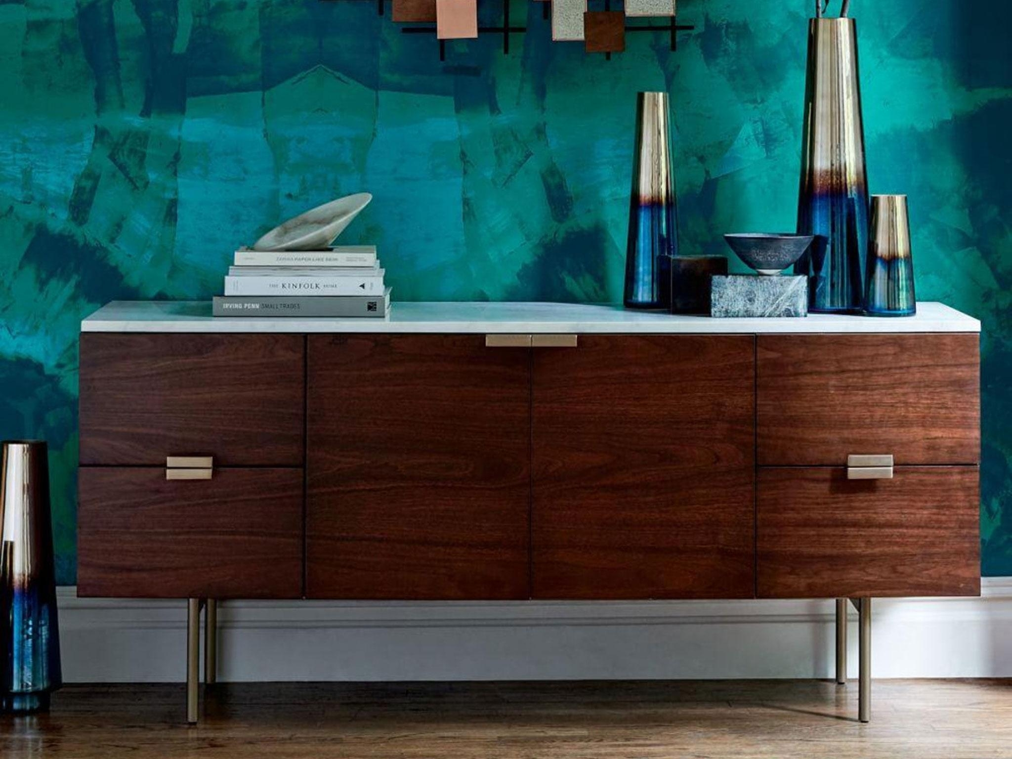 10 Best Sideboards | The Independent with regard to Dark Smoked Oak With White Marble Top Sideboards (Image 1 of 30)