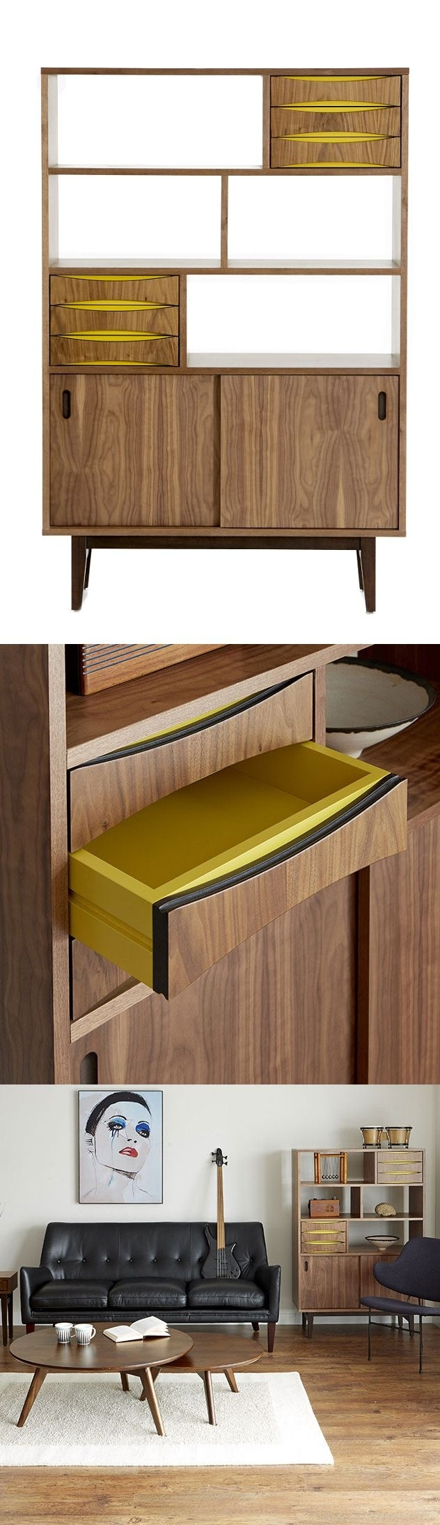111 Best Holzdesign Images On Pinterest | Wood, Woodworking And Inside Burnt Tannin 4 Door Sideboards (Gallery 8 of 30)