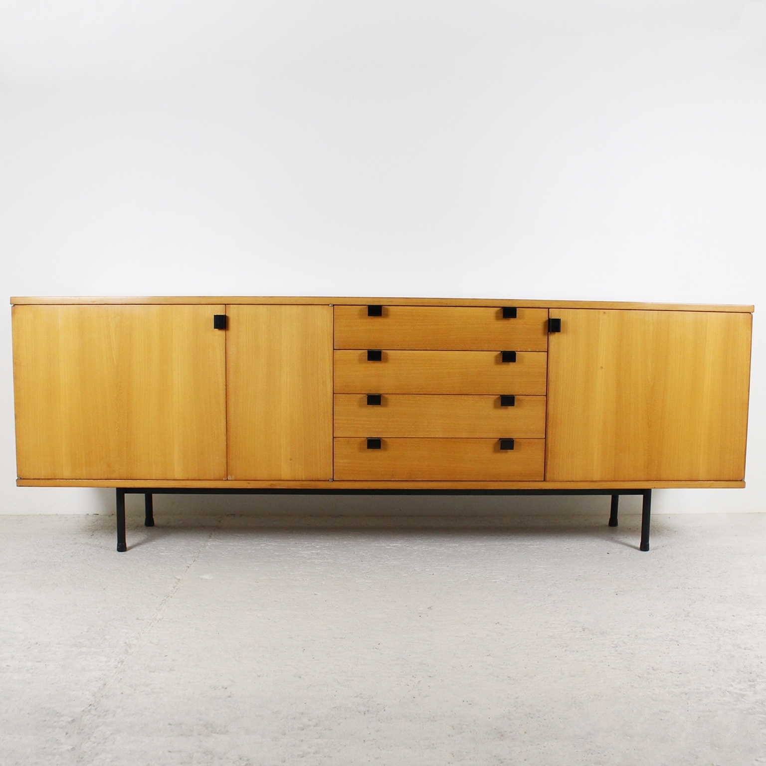 1950's Sideboardalain Richard within Natural Oak Wood 78 Inch Sideboards (Image 1 of 30)