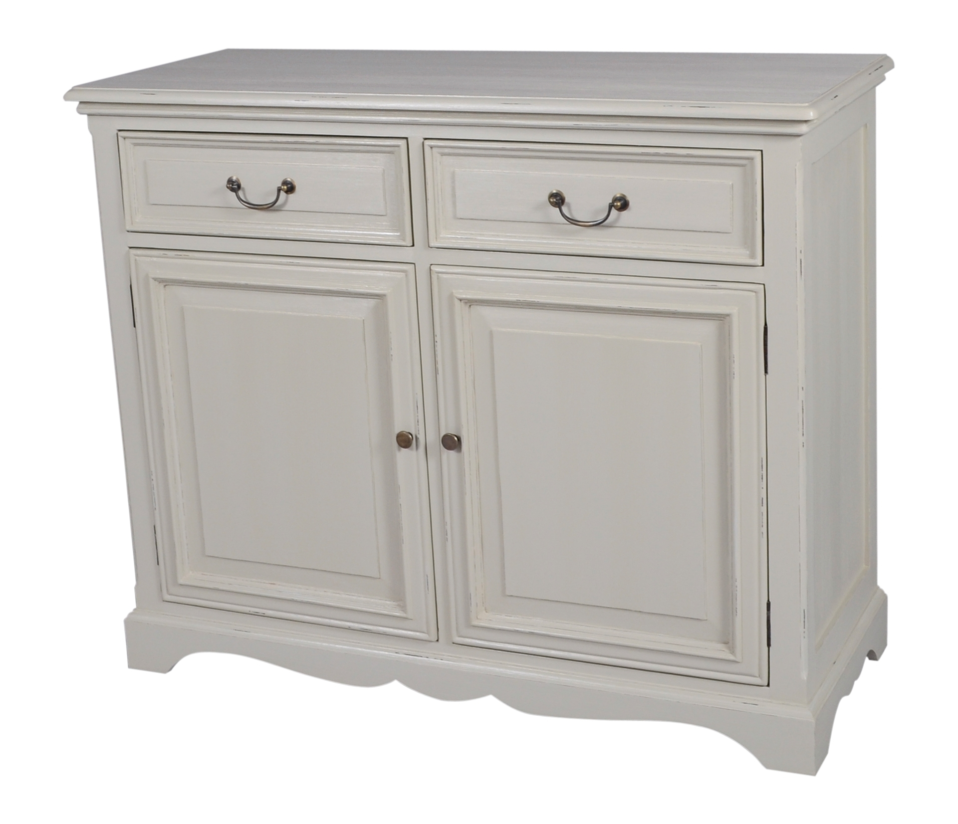 2 Door 2 Drawer Sideboard | Kelston House International throughout 2-Door Mirror Front Sideboards (Image 2 of 30)