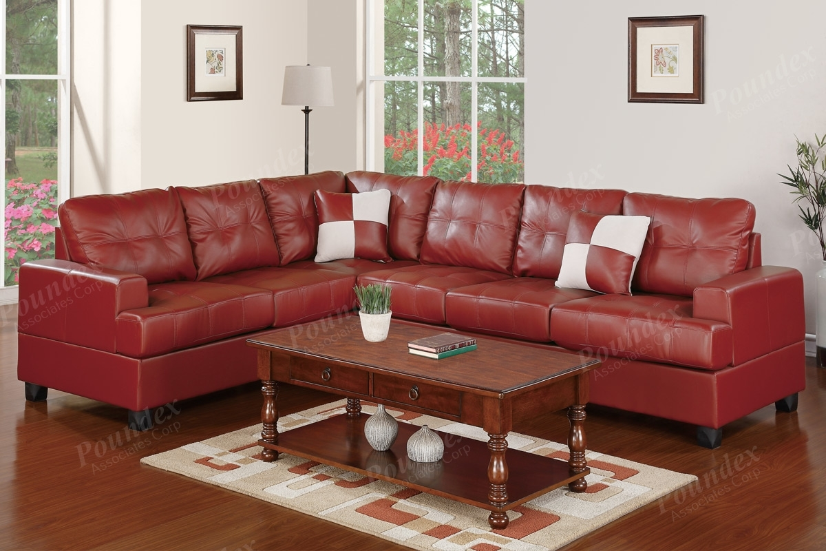 2-Pcs Sectional Set F7642 (4 Colors) - Silver State Furniture regarding Karen 3 Piece Sectionals (Image 1 of 30)