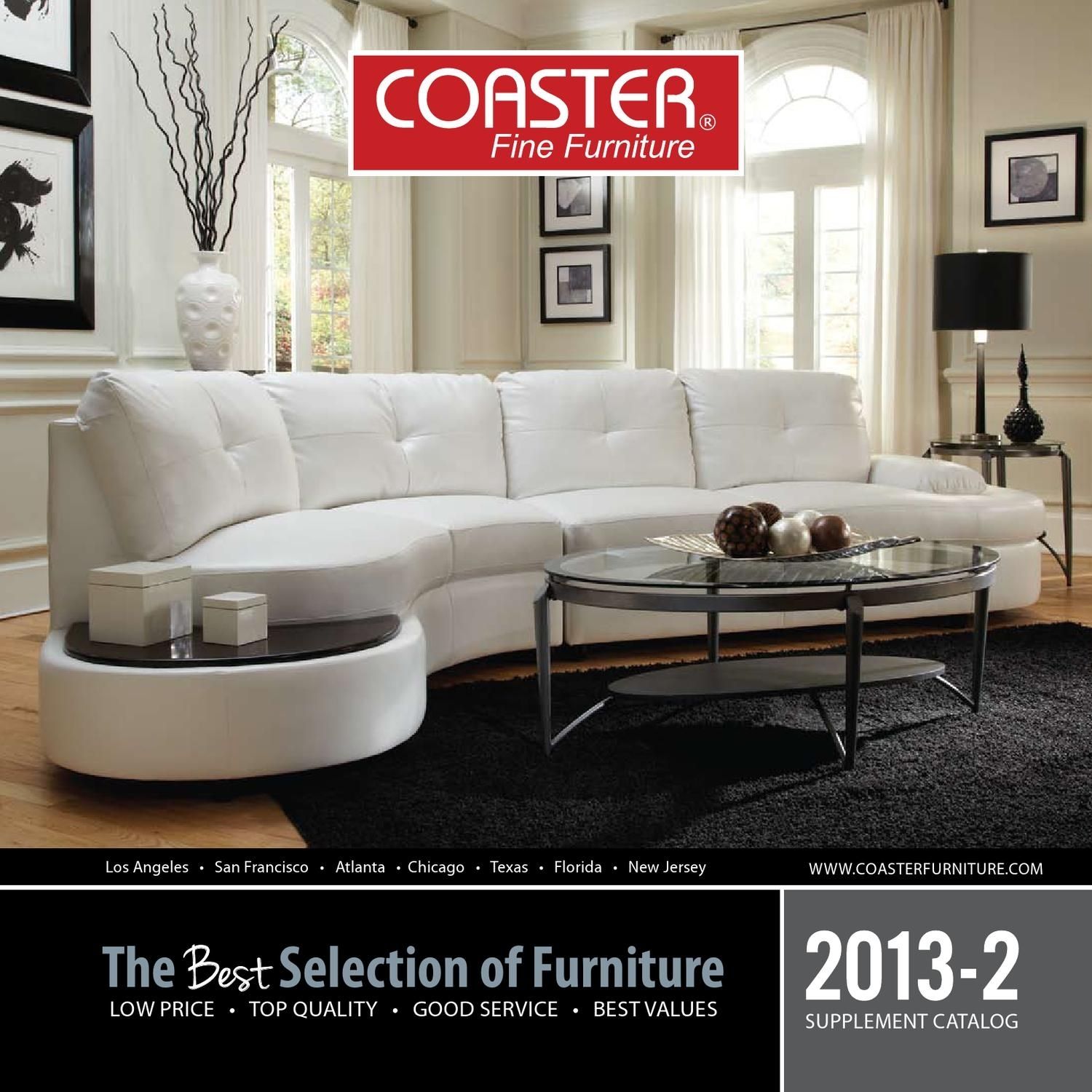 2013 2 Supplement Catalogcoaster Company Of America   Issuu With Regard To Travis Cognac Leather 6 Piece Power Reclining Sectionals With Power Headrest & Usb (Photo 25 of 30)