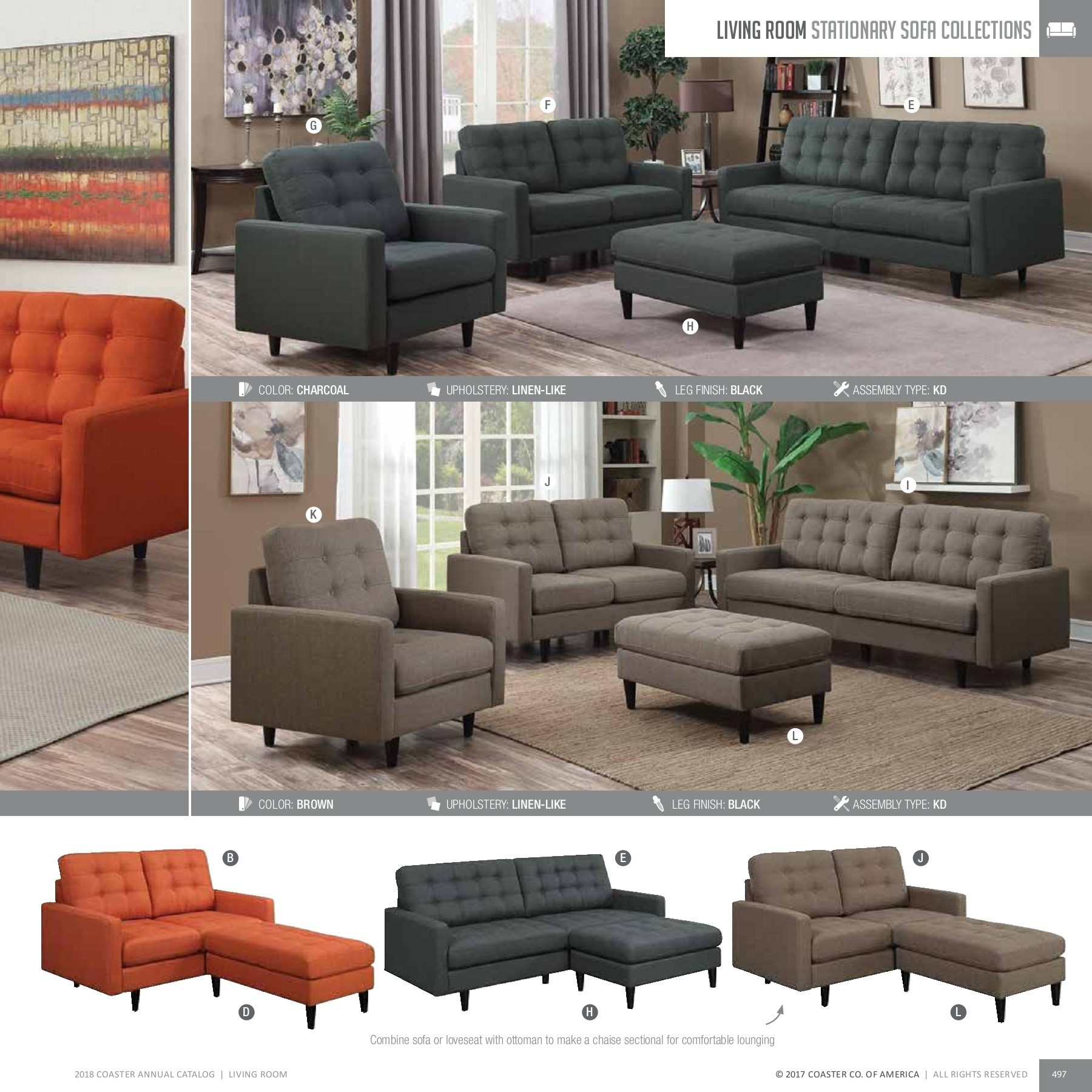 2018 Living Room Catalog Pages 151 - 200 - Text Version | Fliphtml5 with regard to Gordon 3 Piece Sectionals With Raf Chaise (Image 1 of 30)