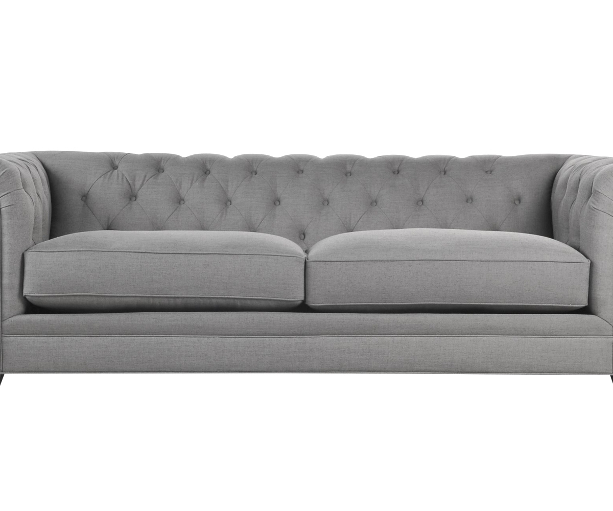 26 Gallery Living Spaces Sofas Regarding Aquarius Dark Grey 2 Piece Sectionals With Laf Chaise (Photo 25 of 30)