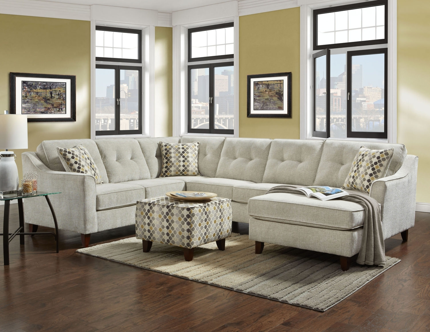 3 Piece Sectional | Gorbuhi with Adeline 3 Piece Sectionals (Image 1 of 30)