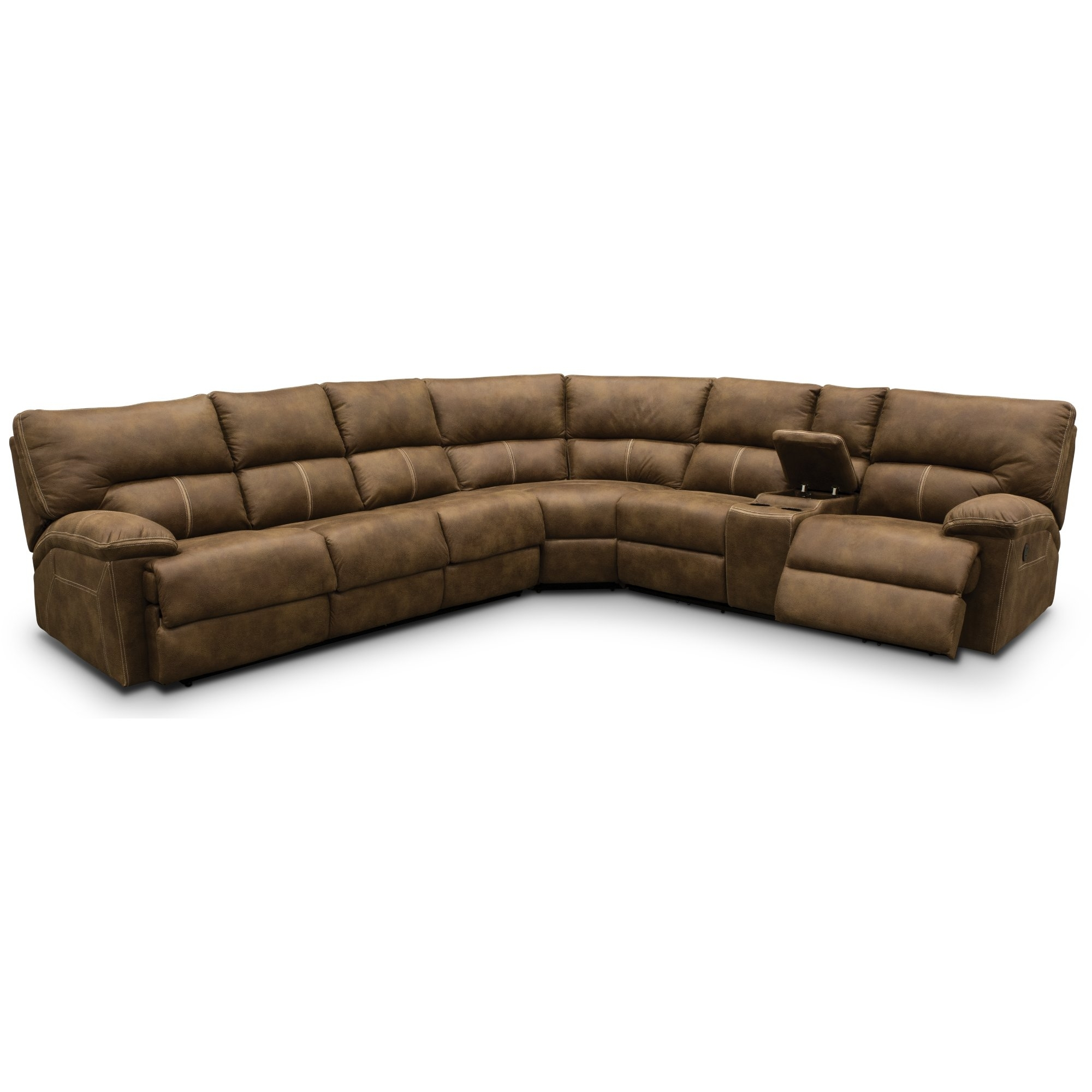 3 Piece Sectional Sofa With Recliner | Thesofasite.co Inside Taron 3 Piece Power Reclining Sectionals With Right Facing Console Loveseat (Photo 5 of 30)
