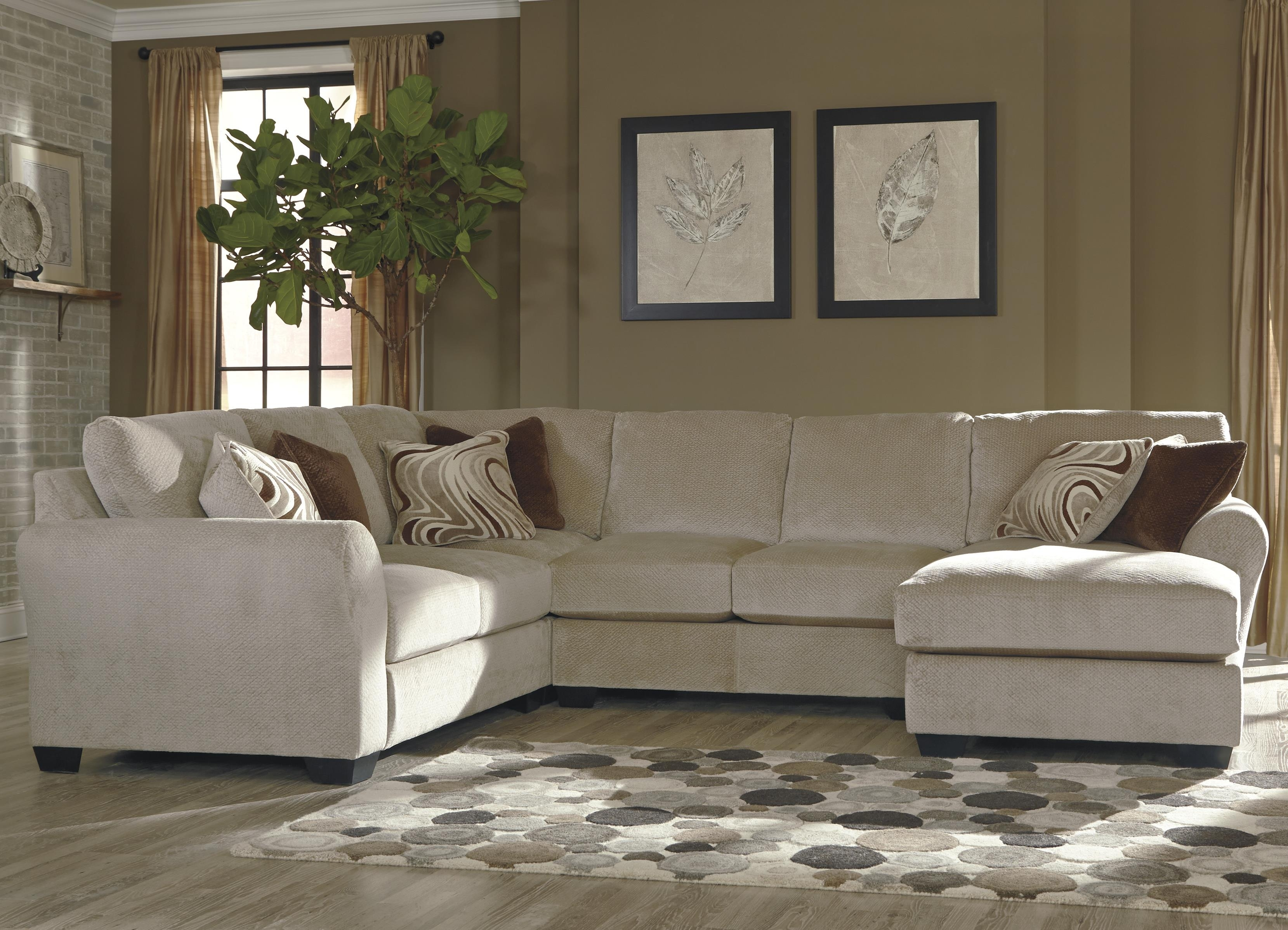 4 Piece Sectional. Beautiful Piece Dellara 4Piece Sectional On 4 for Alder 4 Piece Sectionals (Image 4 of 30)