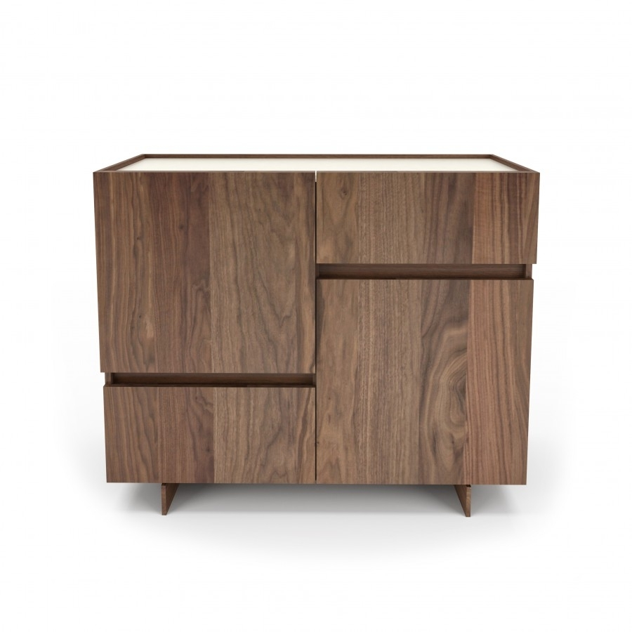 48'' Sideboard : Magnolia Collection, Furniture Manufacturer with regard to Walnut Finish Contempo Sideboards (Image 3 of 30)